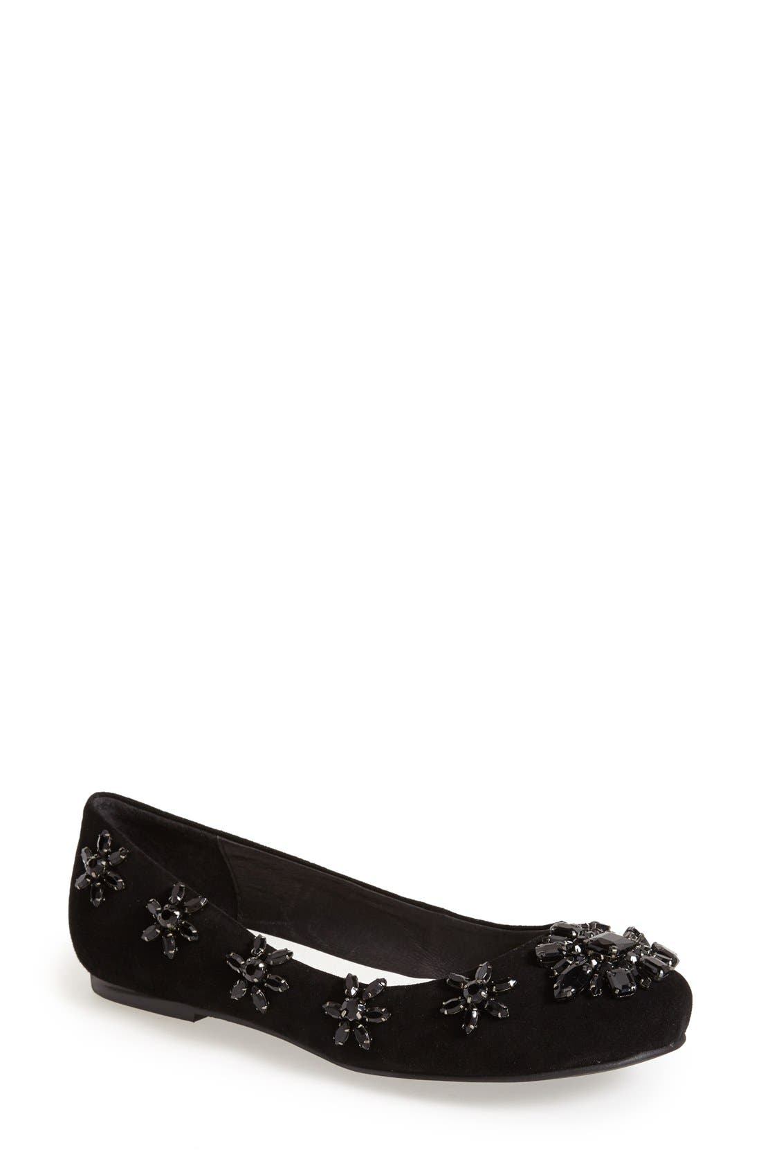 Alternate Image 1 Selected - Jeffrey Campbell 'Tres-Orne' Ballet Flat (Women)