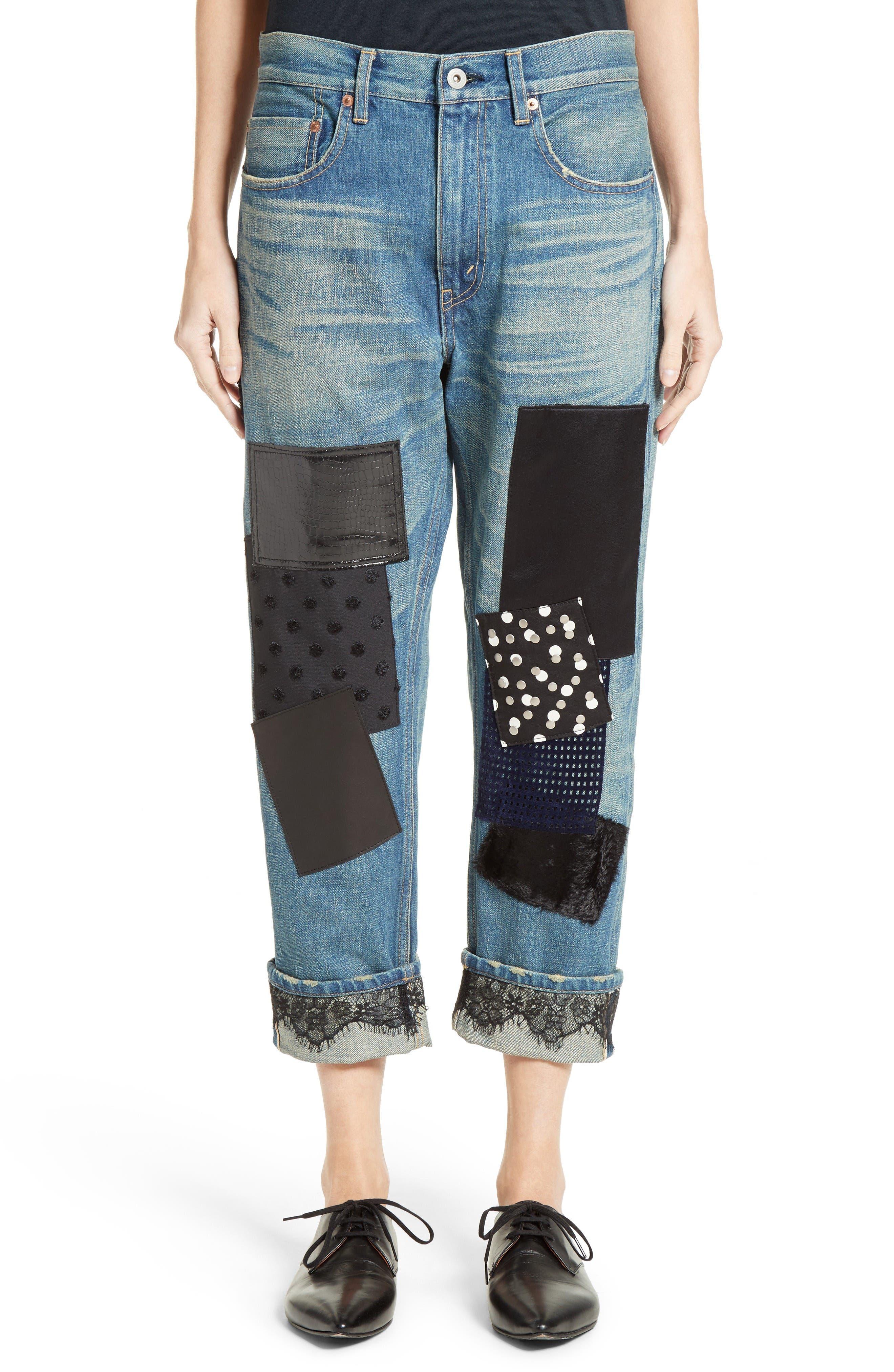 Junya Watanabe Patchwork Boyfriend Jeans