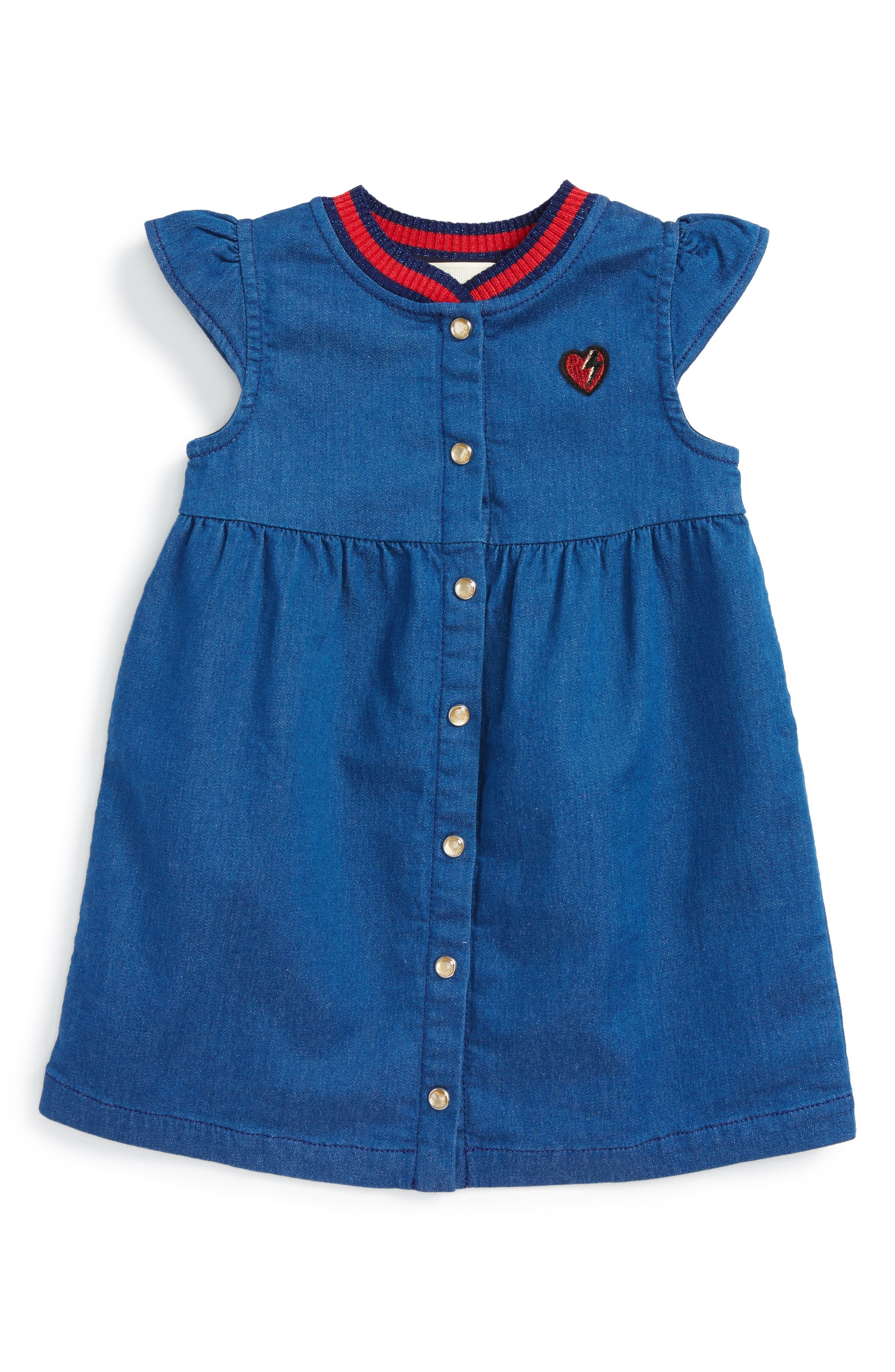 Gucci Knit Collar Dress (Baby Girls)
