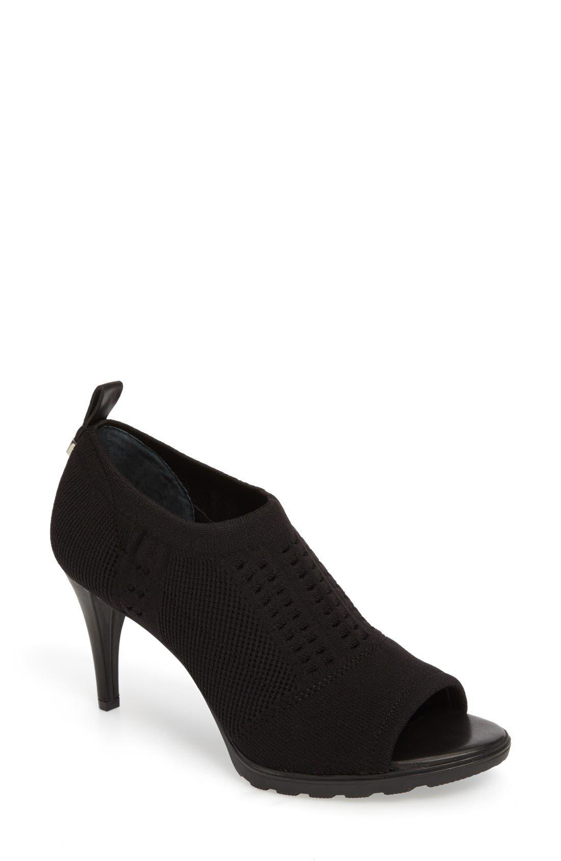 Calvin Klein Massey Peep Toe Pump (Women)