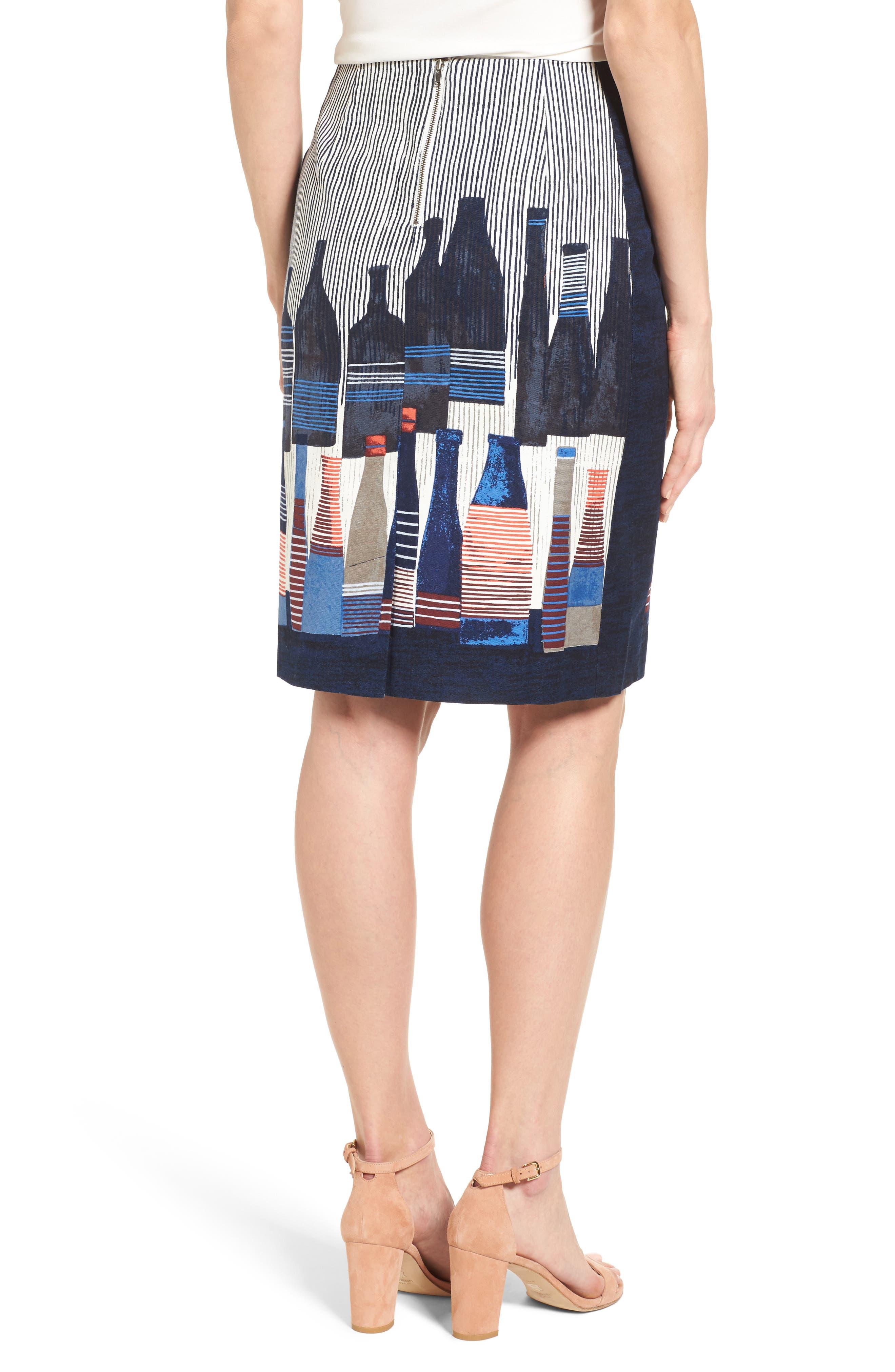 Alternate Image 3  - NIC+ZOE Spring Bottles Skirt (Regular & Petite)