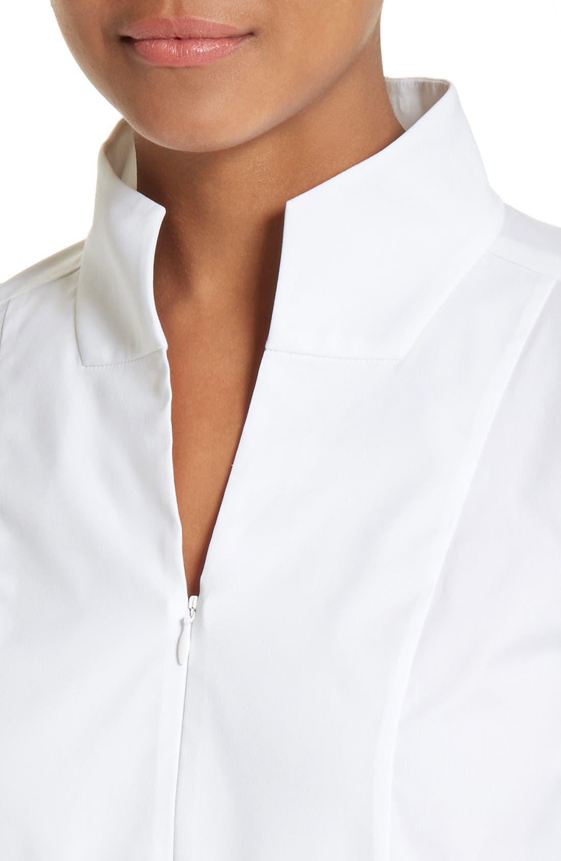 Alternate Image 6  - Lafayette 148 New York Marco Jersey Sleeve Tunic