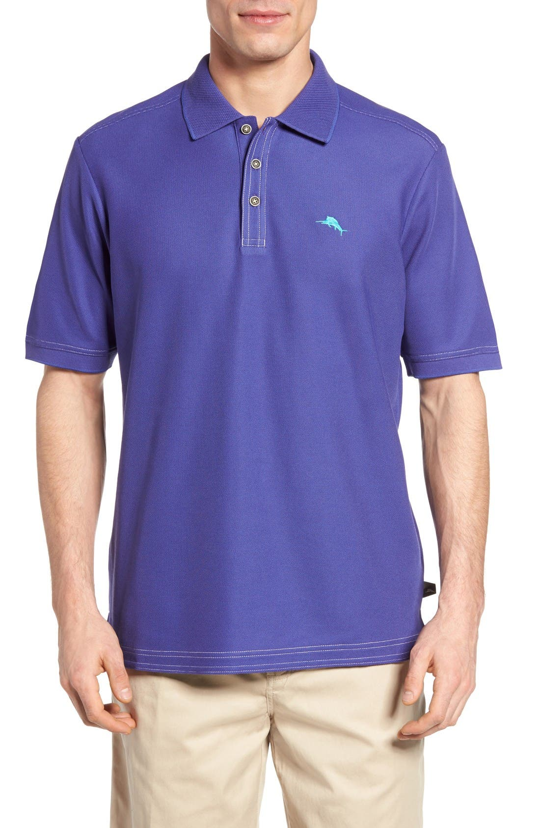 Tommy Bahama 'The Emfielder' Original Fit Piqué Polo