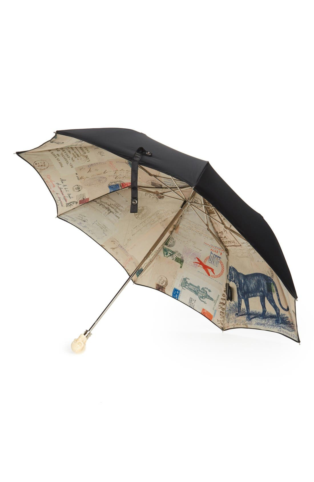 Alternate Image 2  - Alexander McQueen Cards from India Umbrella