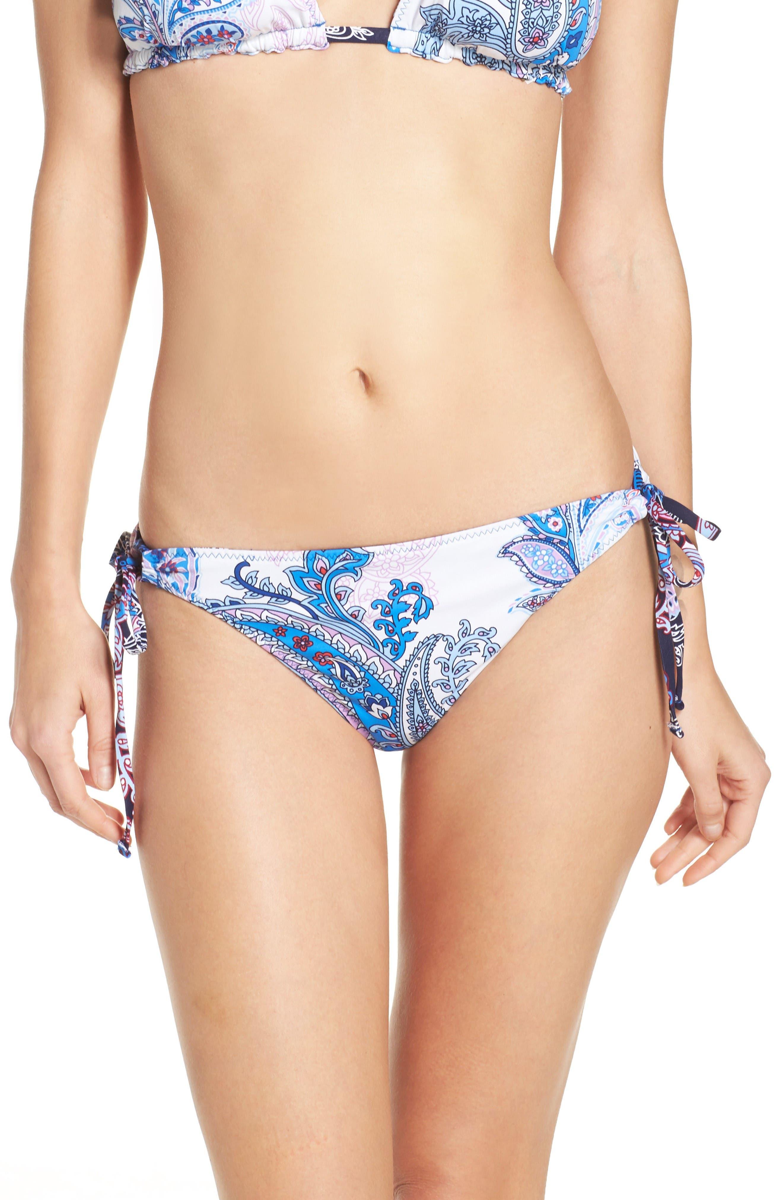 Tommy Bahama Reversible Paisley Print Bikini Bottoms