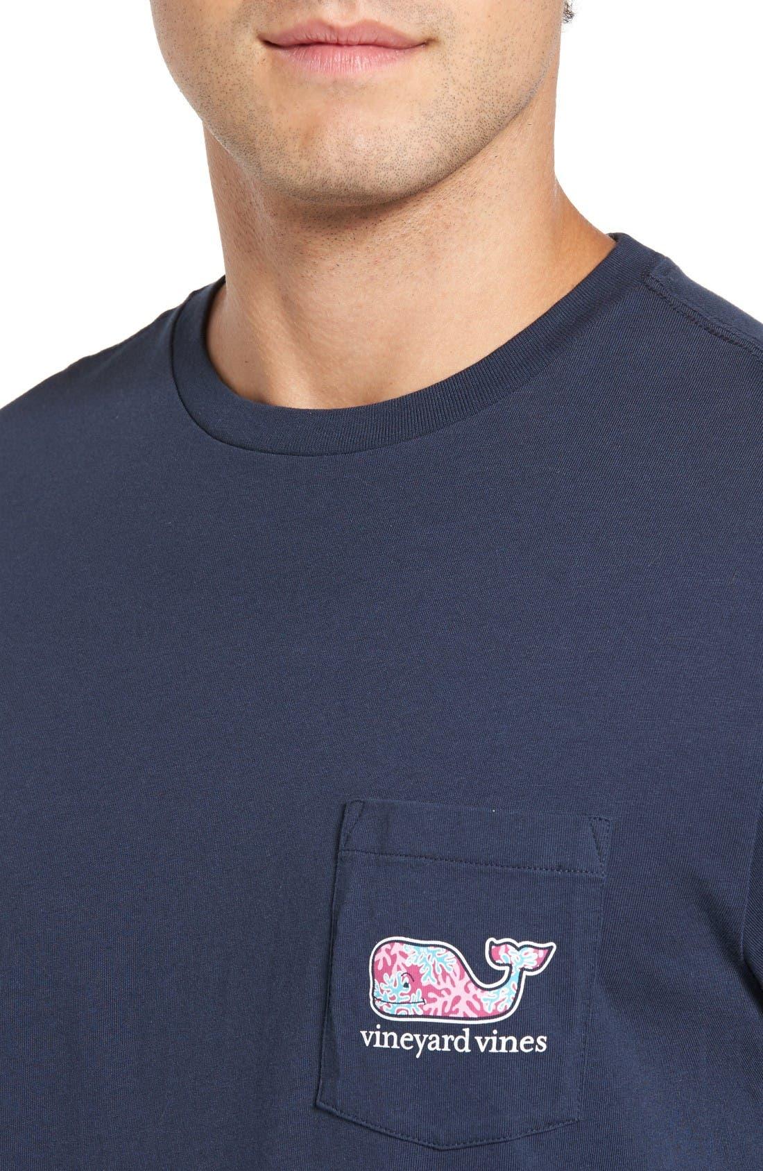Alternate Image 5  - Vineyard Vines Marlin & Coral T-Shirt