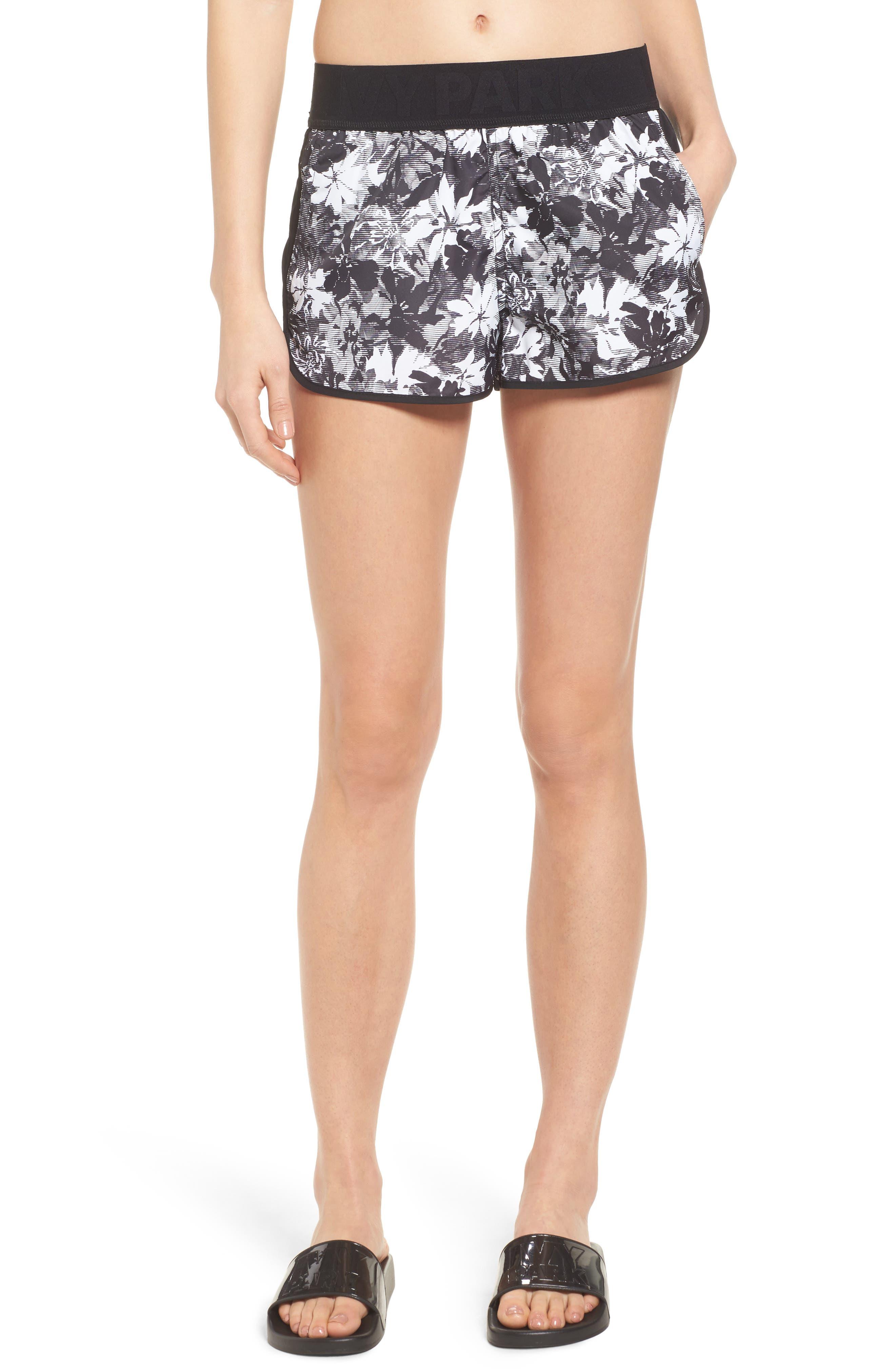 IVY PARK Floral Running Shorts