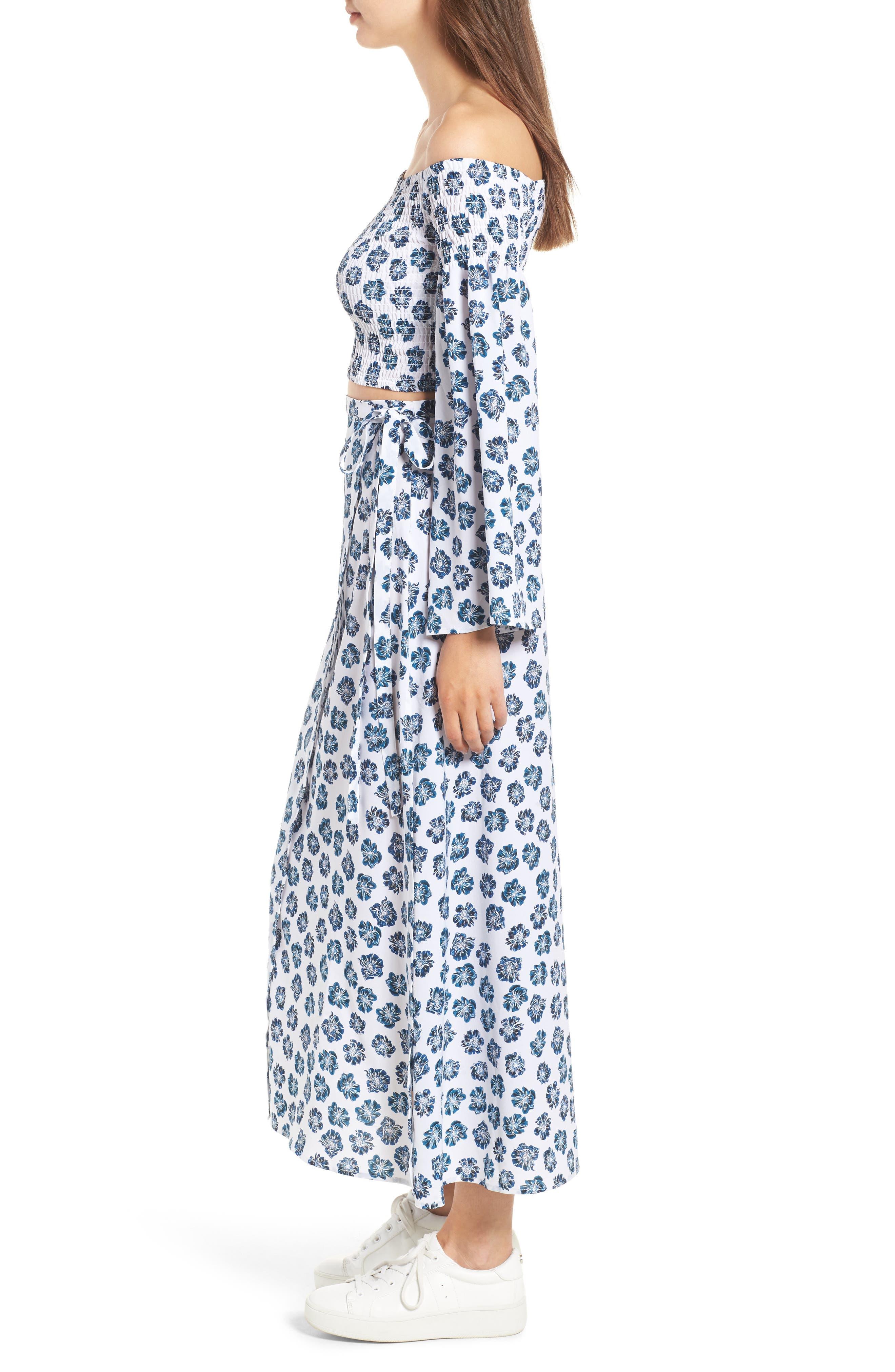 Alternate Image 4  - The Fifth Label Romancing Print Wrap Skirt