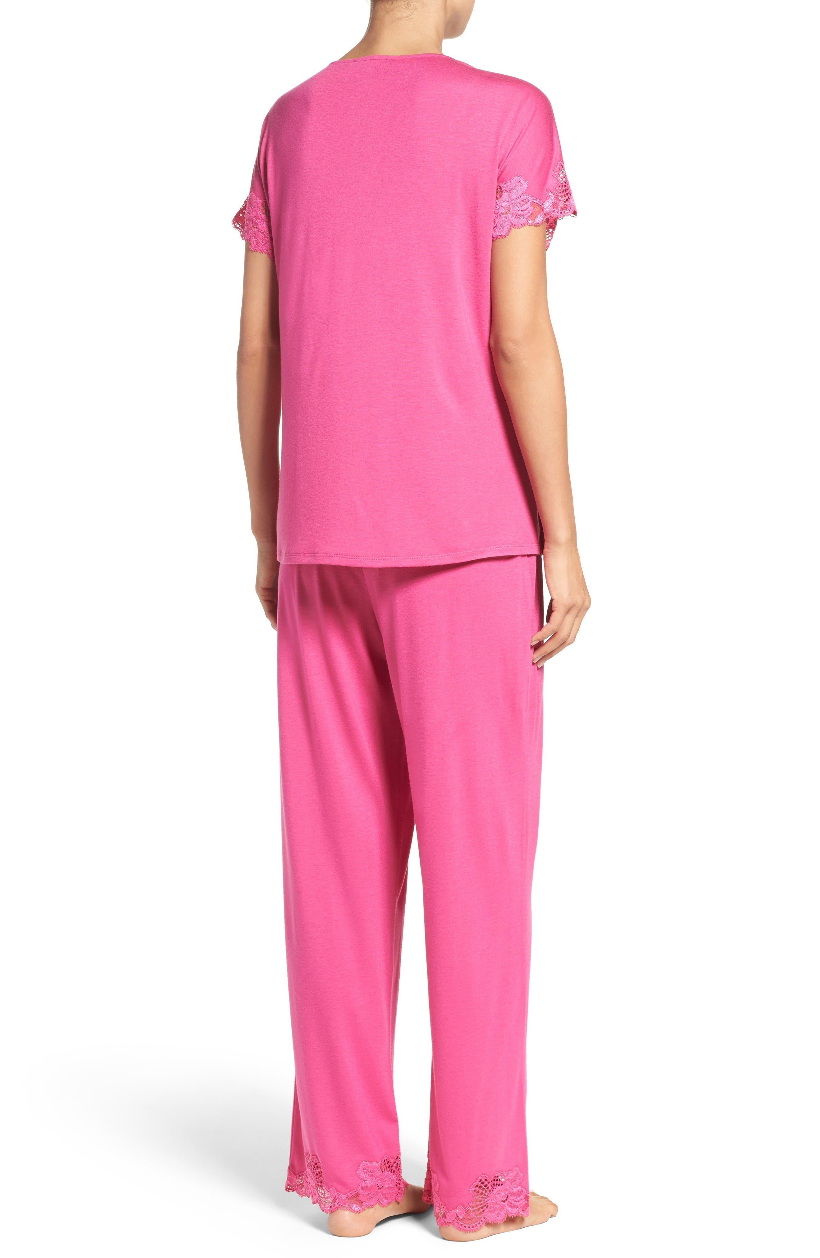 Alternate Image 2  - Natori 'Zen Floral' Pajama Set