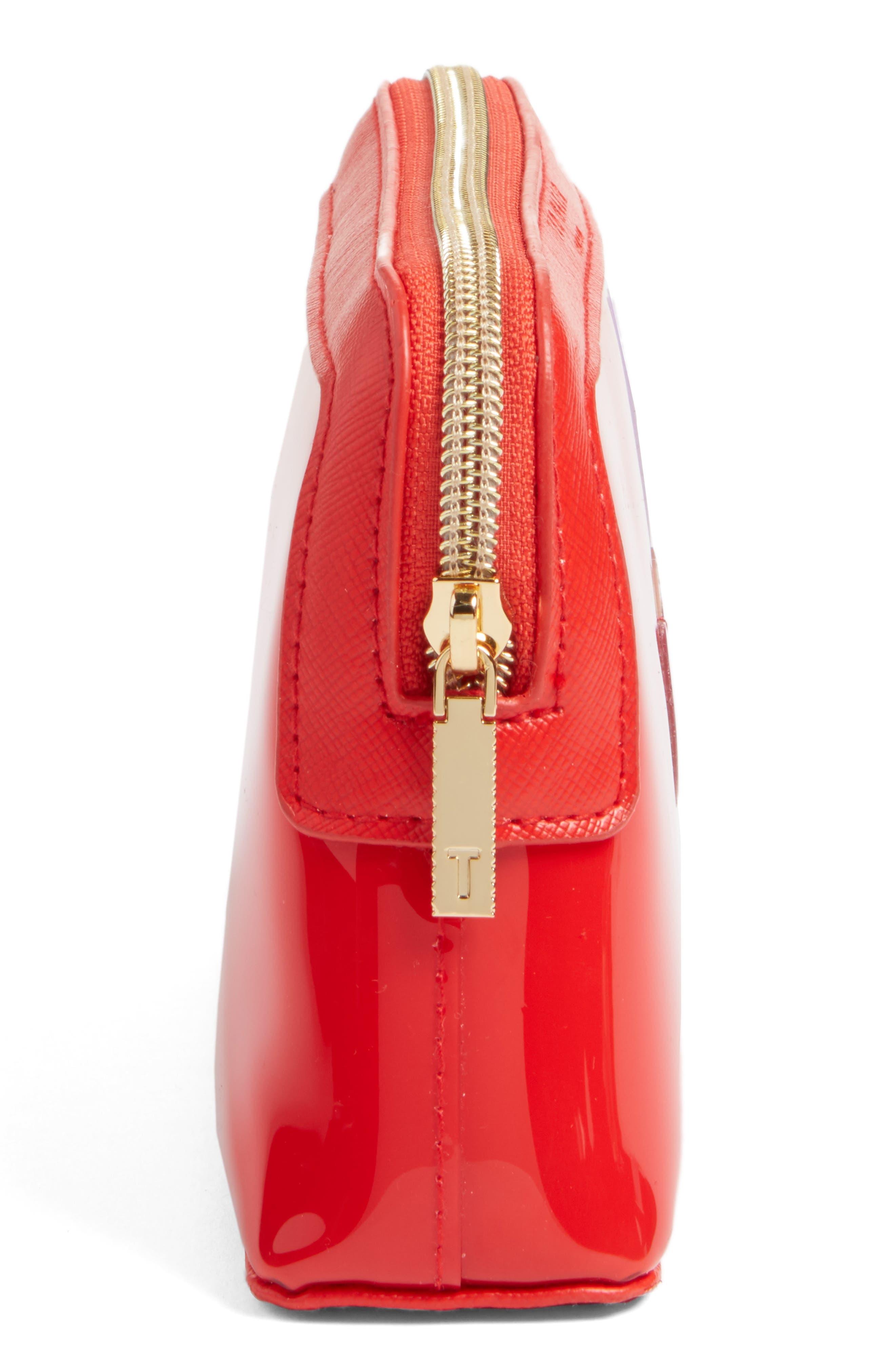Alternate Image 4  - Ted Baker London Heart Cosmetics Bag
