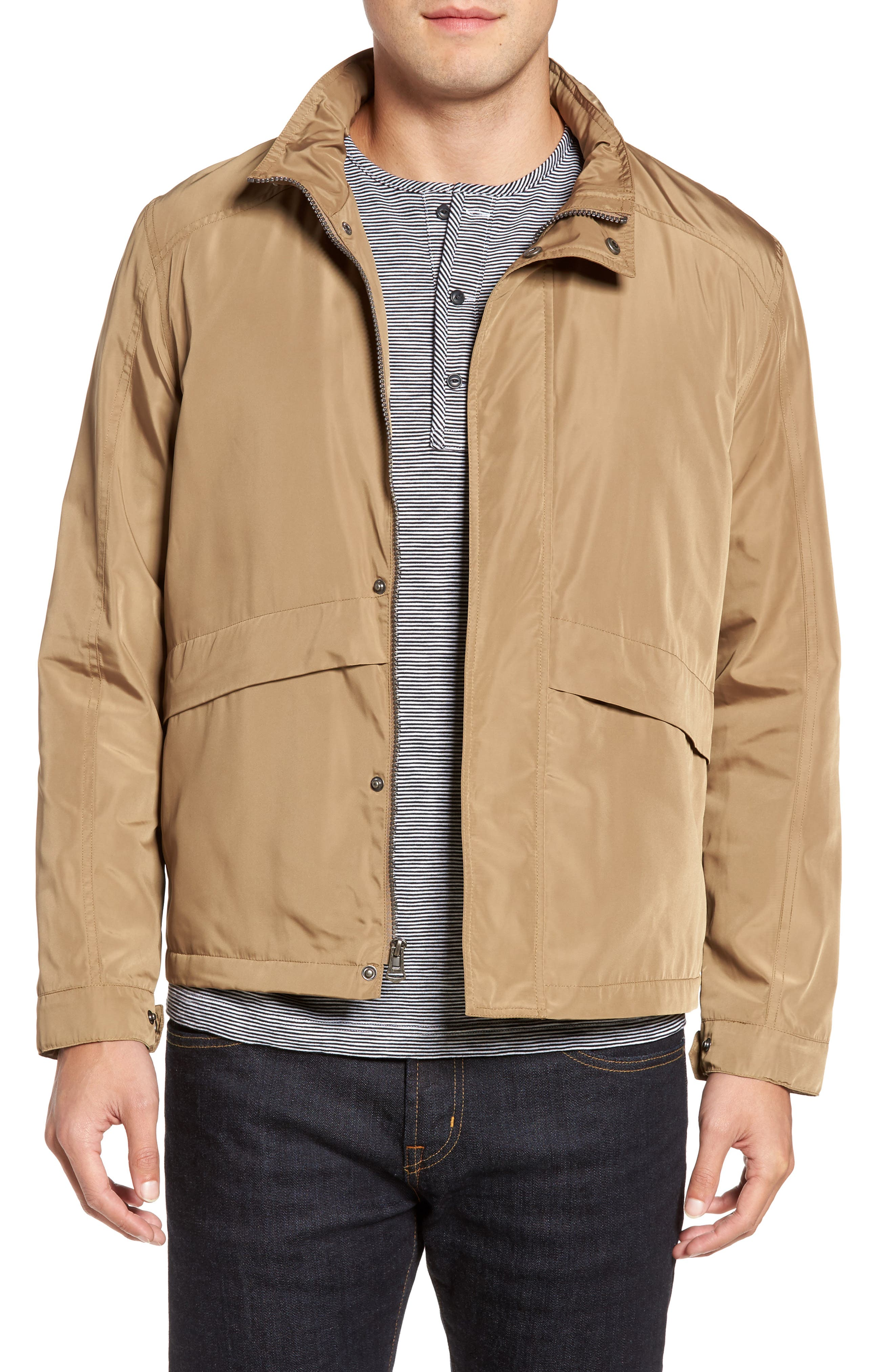 COLE HAAN Trucker Jacket