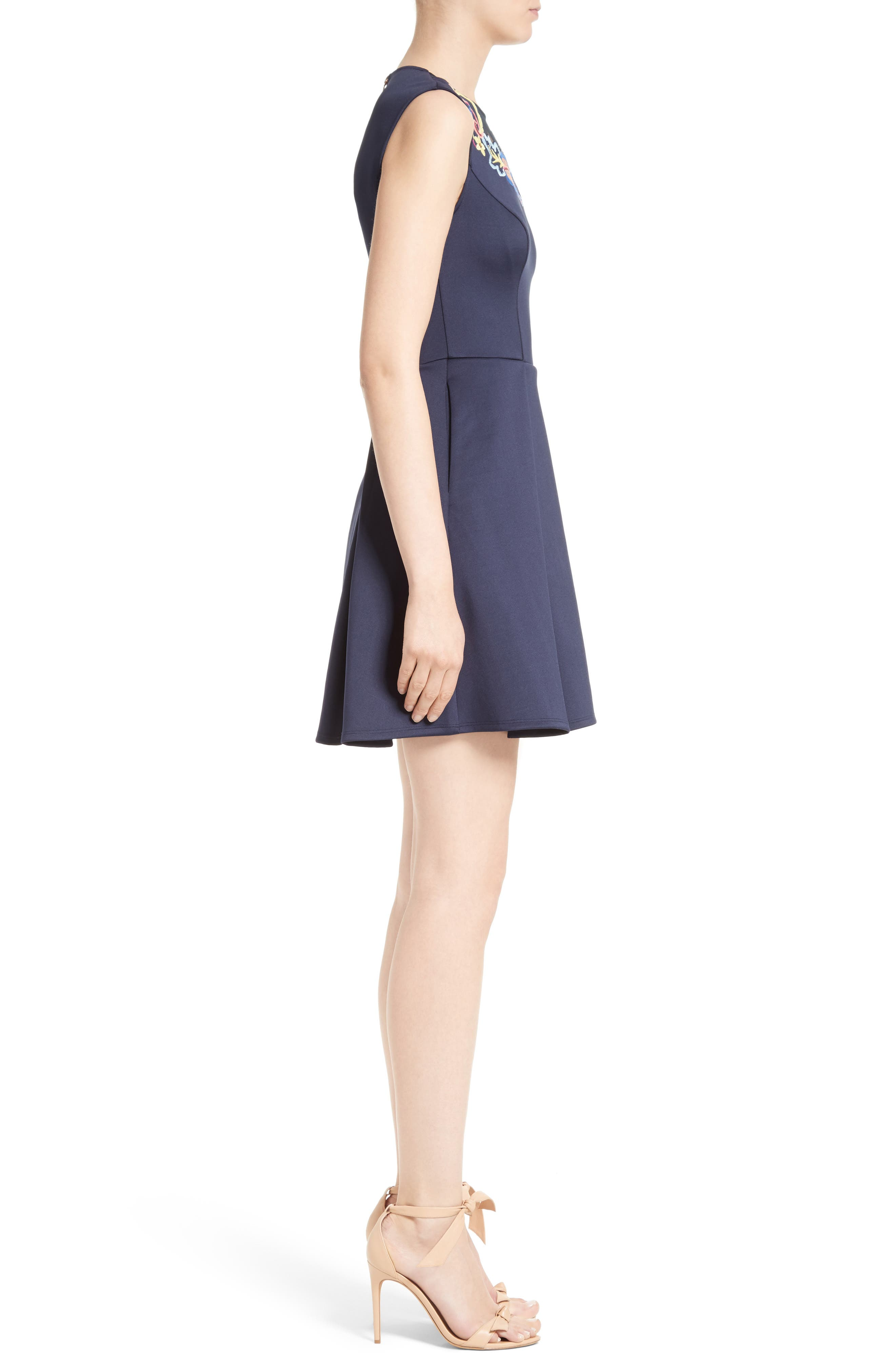 Alternate Image 3  - Ted Baker London Lavensa Fit & Flare Dress