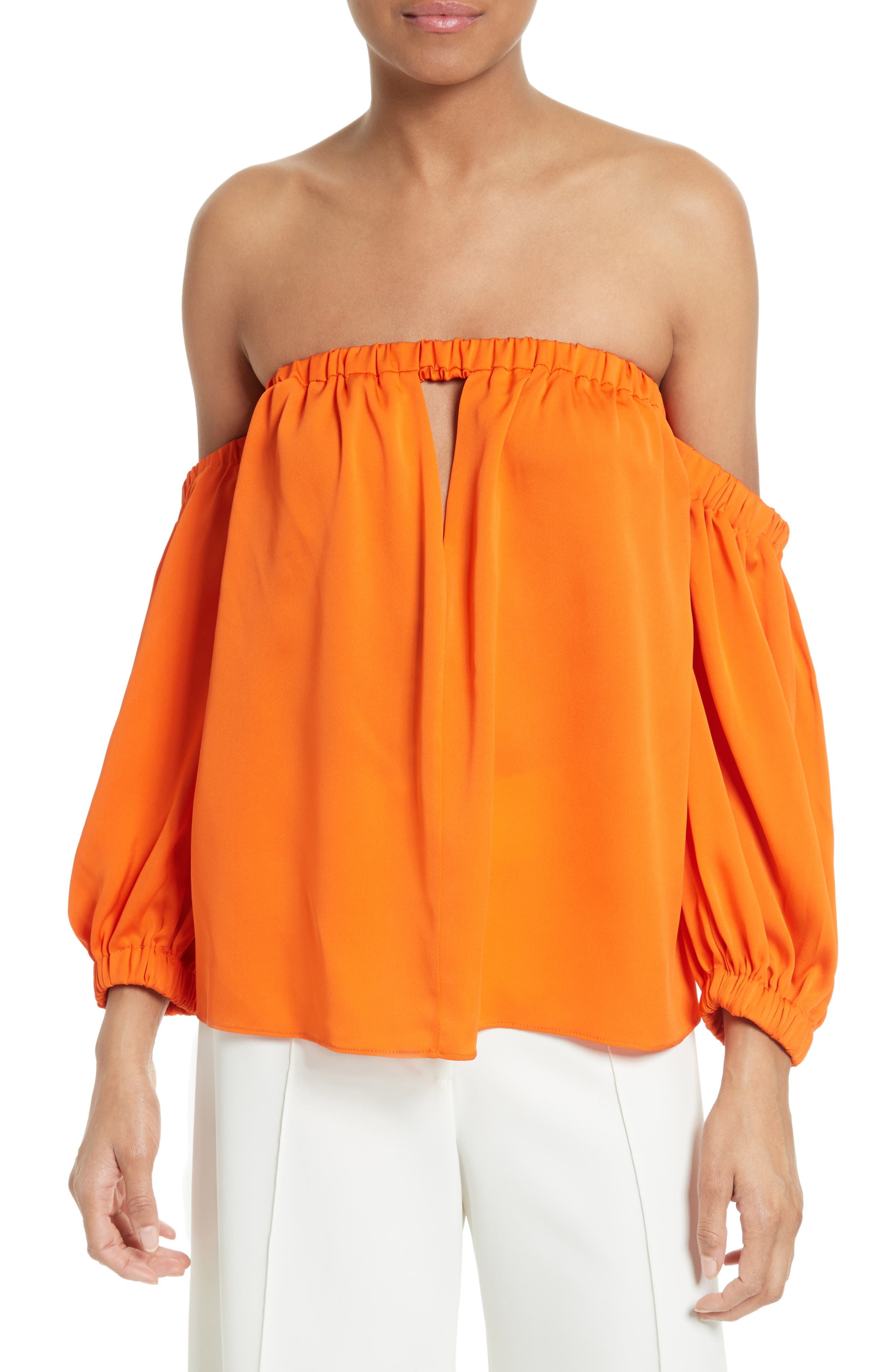 MILLY Leslie Off the Shoulder Top
