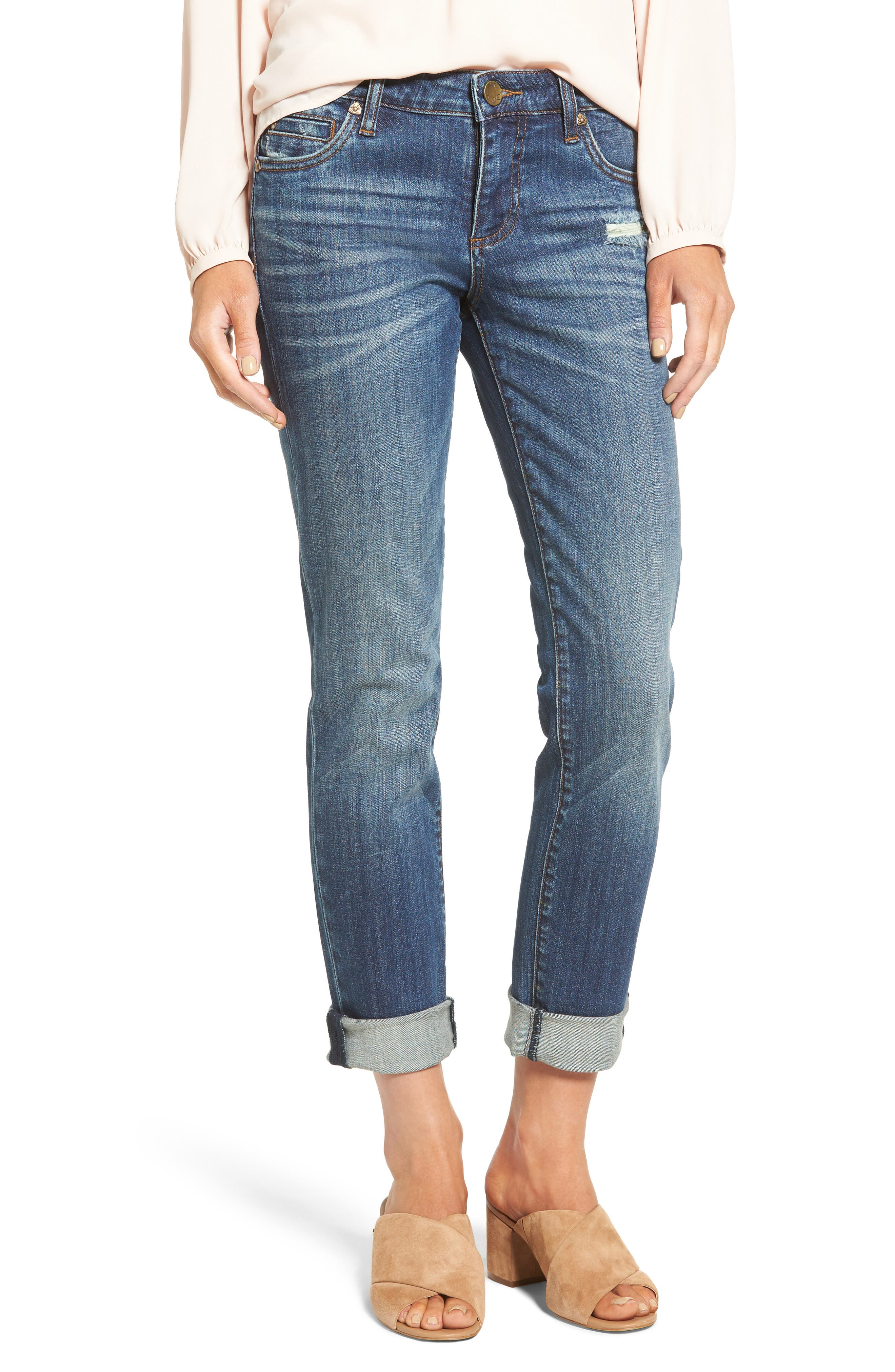 Alternate Image 1 Selected - KUT from the Kloth Catherine Boyfriend Jeans (Doubtless)