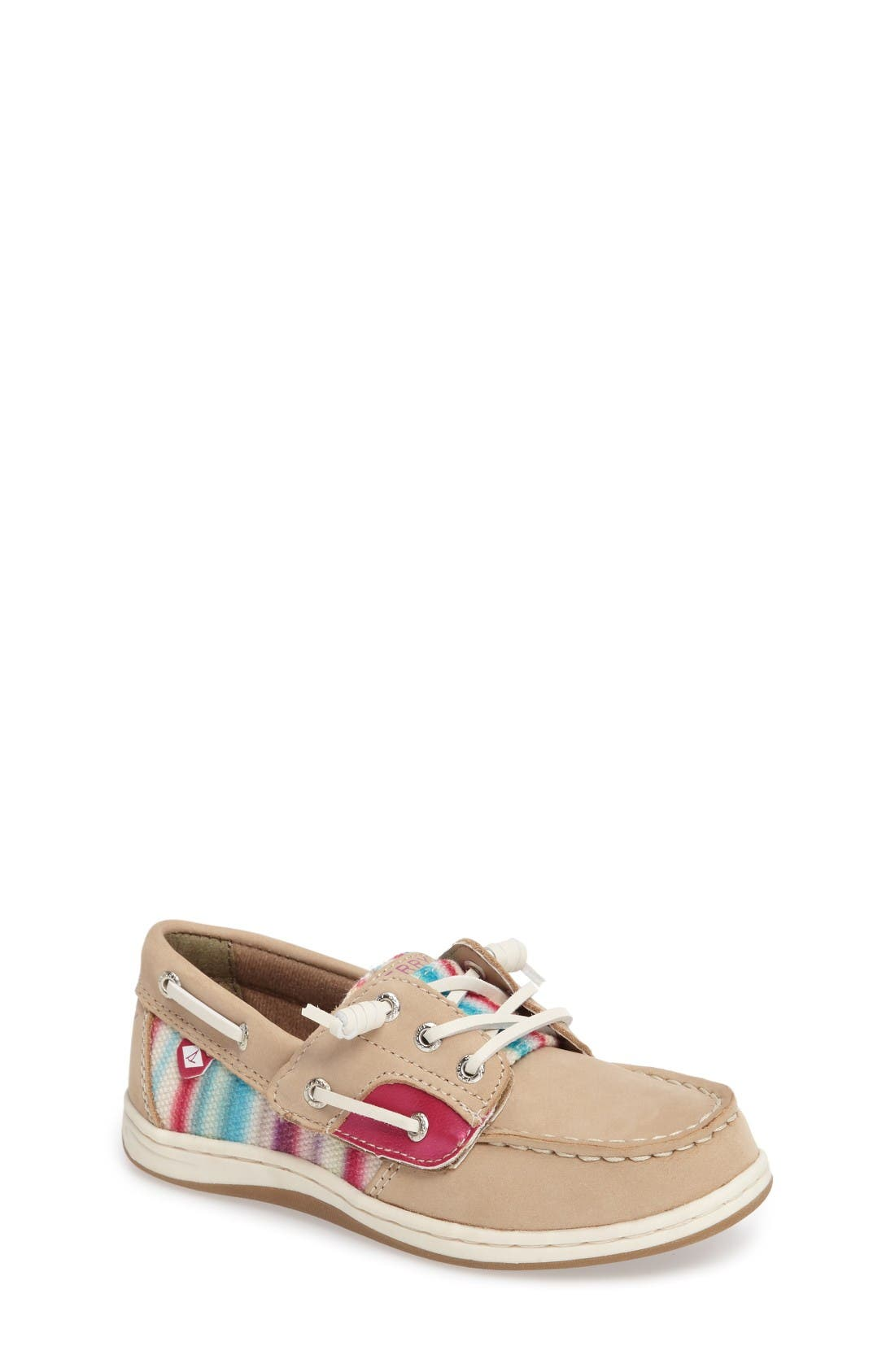 Sperry Kids 'Songfish Jr' Boat Shoe (Walker & Toddler)