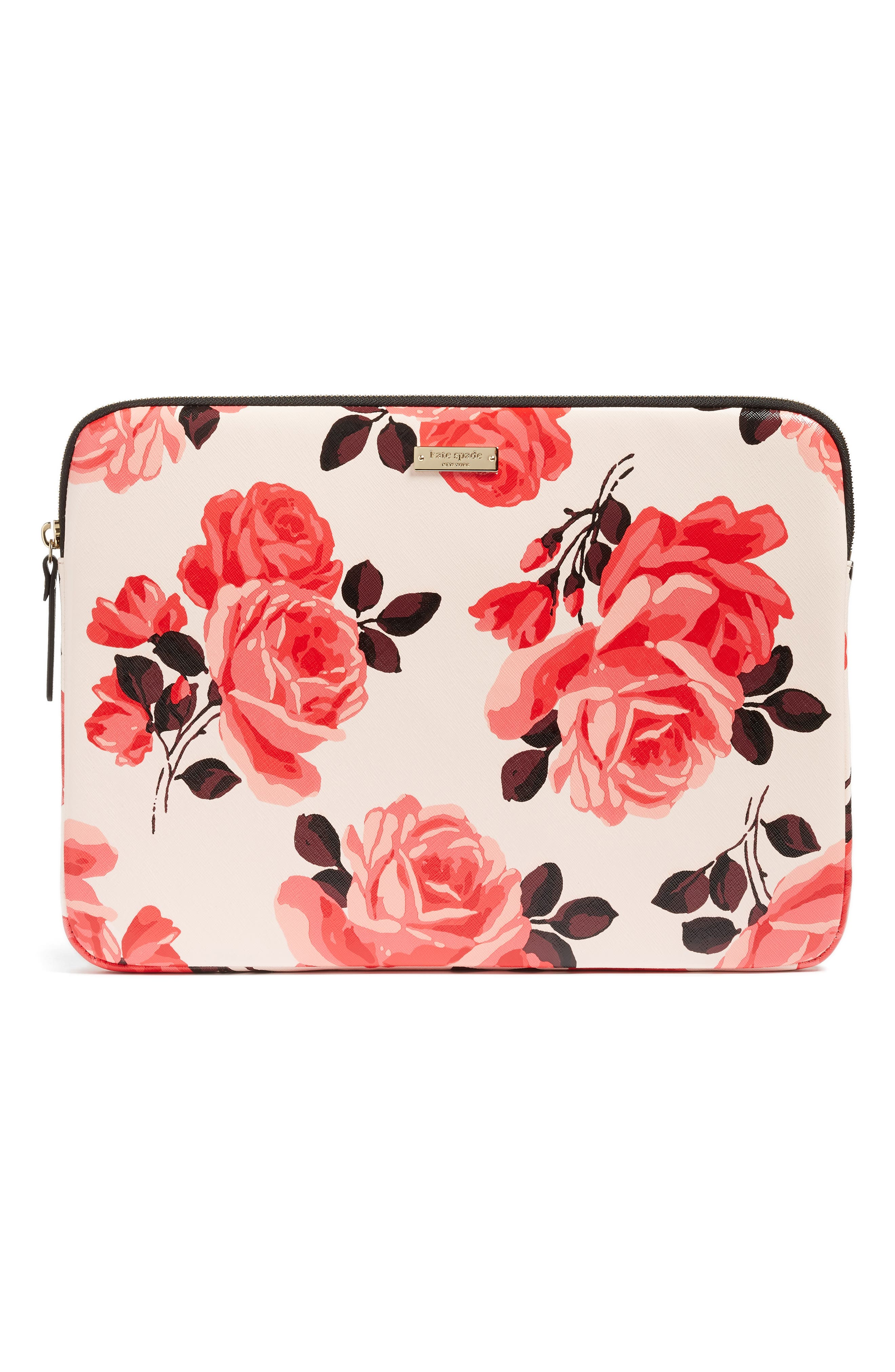 Alternate Image 1 Selected - kate spade new york rose laptop sleeve (13 Inch)