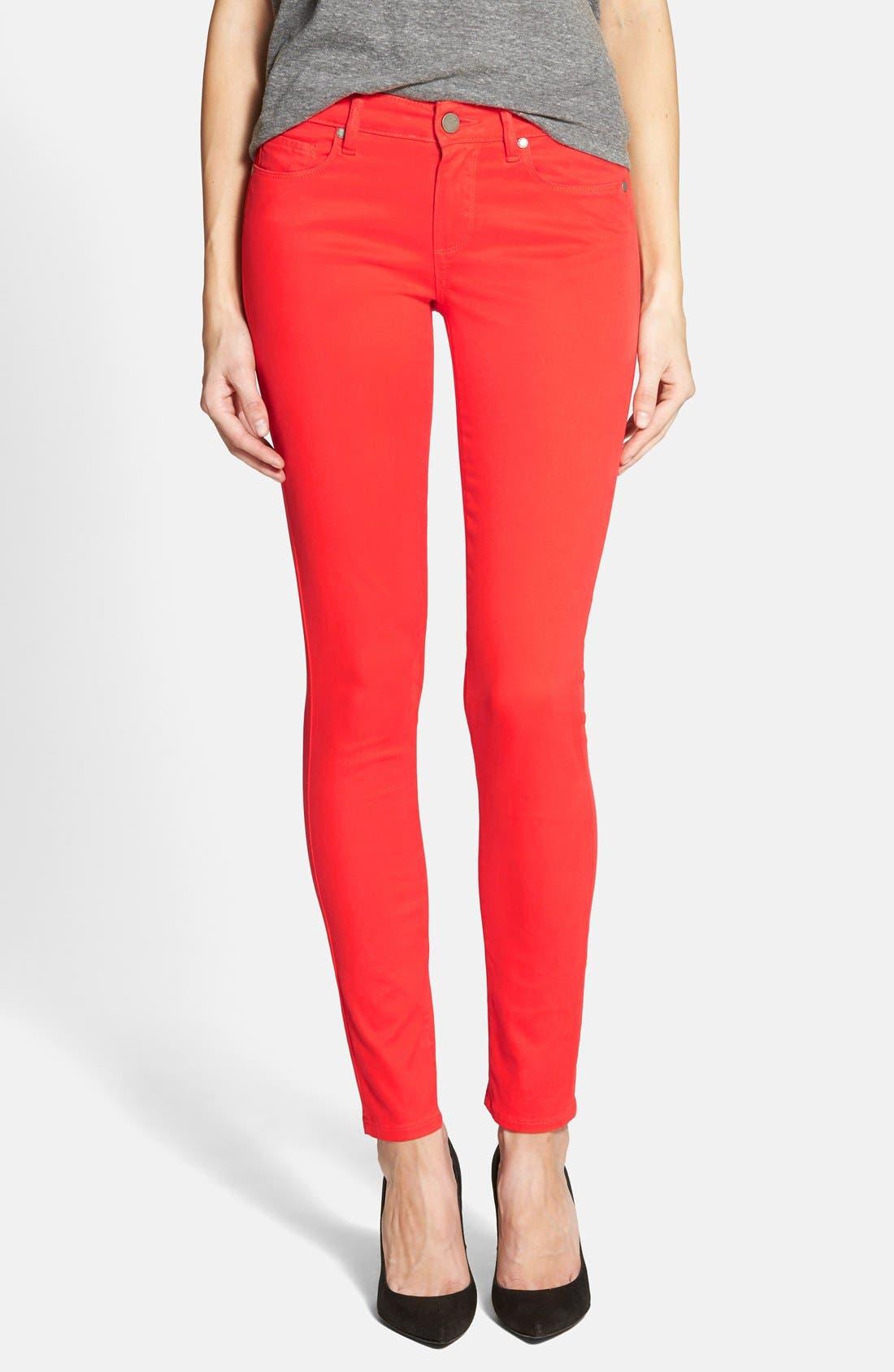 Alternate Image 1 Selected - Paige Denim 'Verdugo' Ultra Skinny Jeans (Flirtatious)