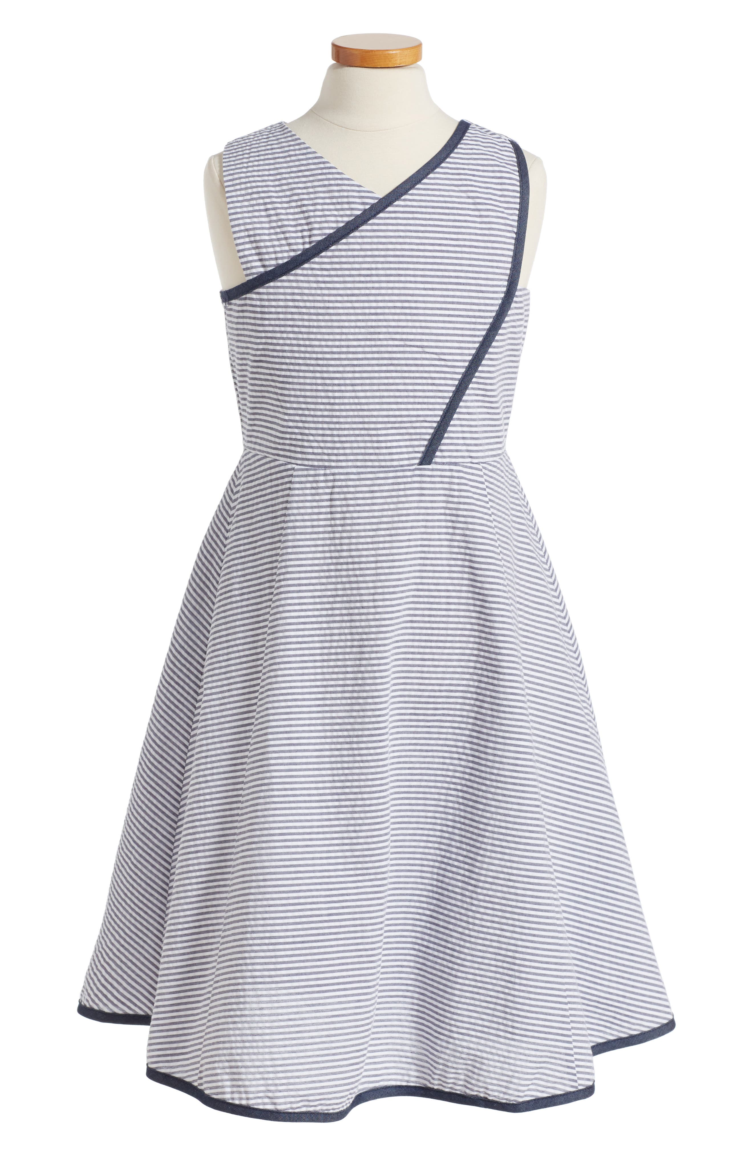 DORISSA Erica Faux Wrap Dress