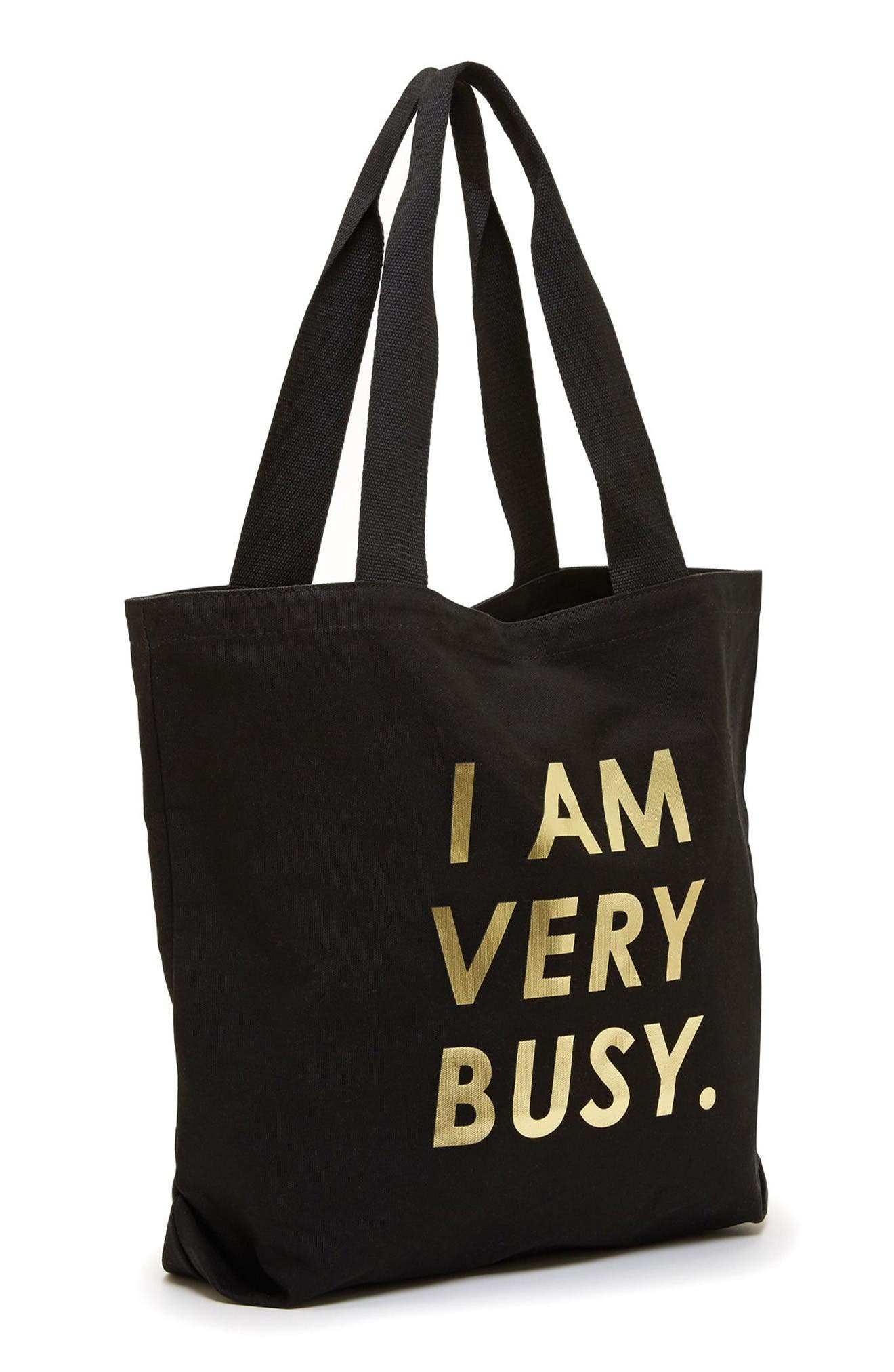 Alternate Image 2  - ban.do I Am Very Busy Canvas Tote