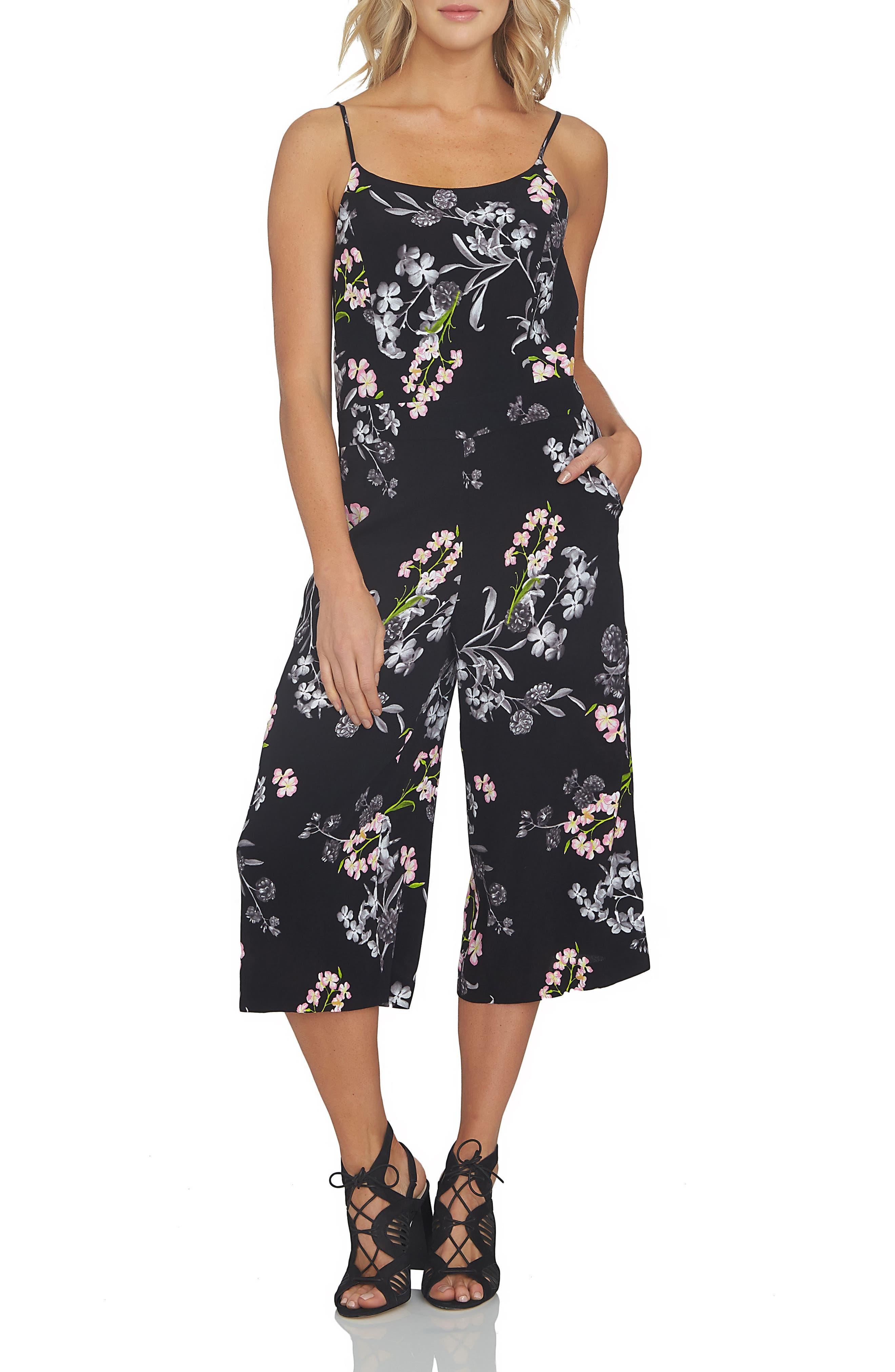 1.STATE Print Culotte Jumpsuit