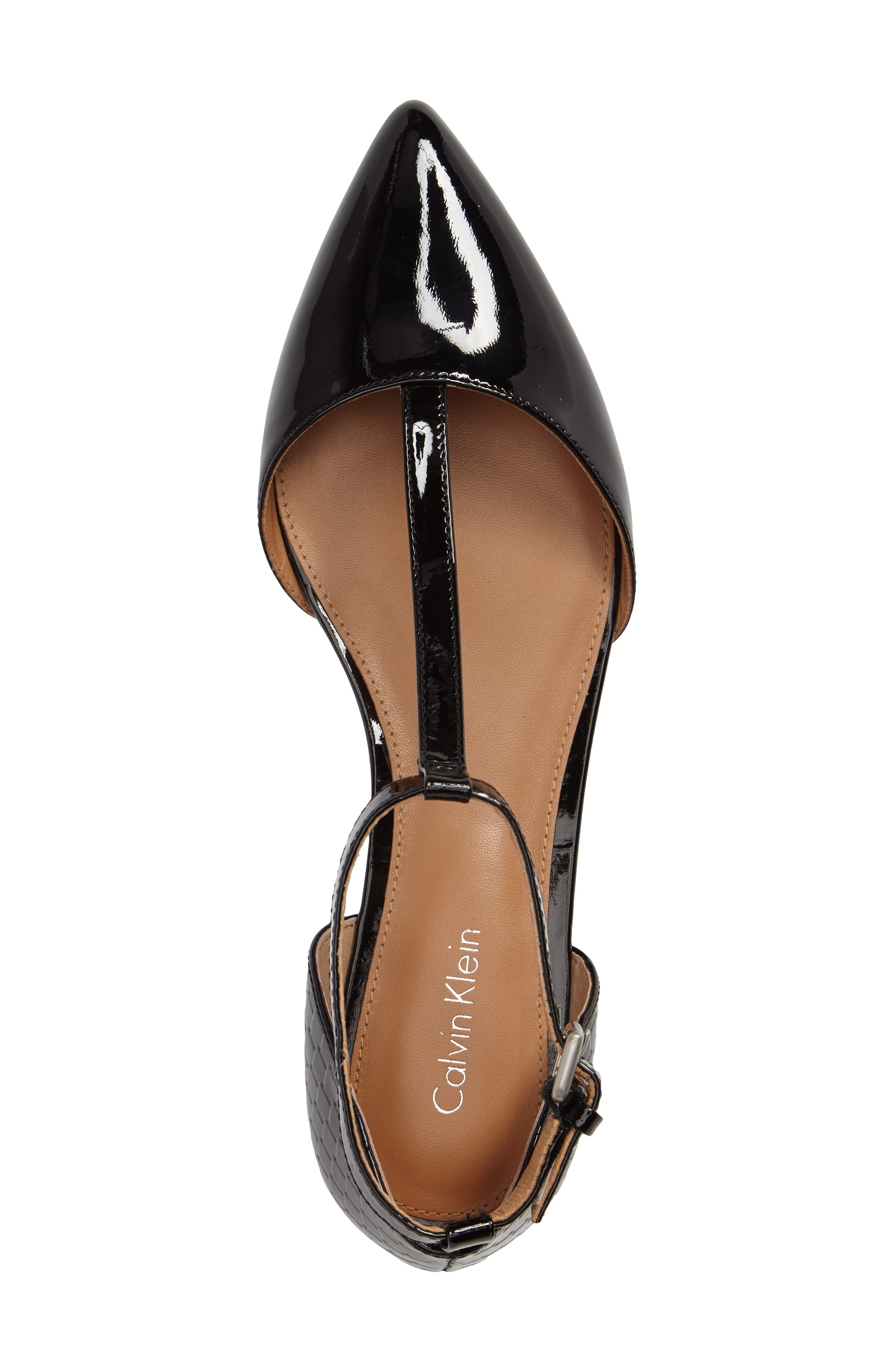 Alternate Image 3  - Calvin Klein 'Ghita' T-Strap Flat (Women)