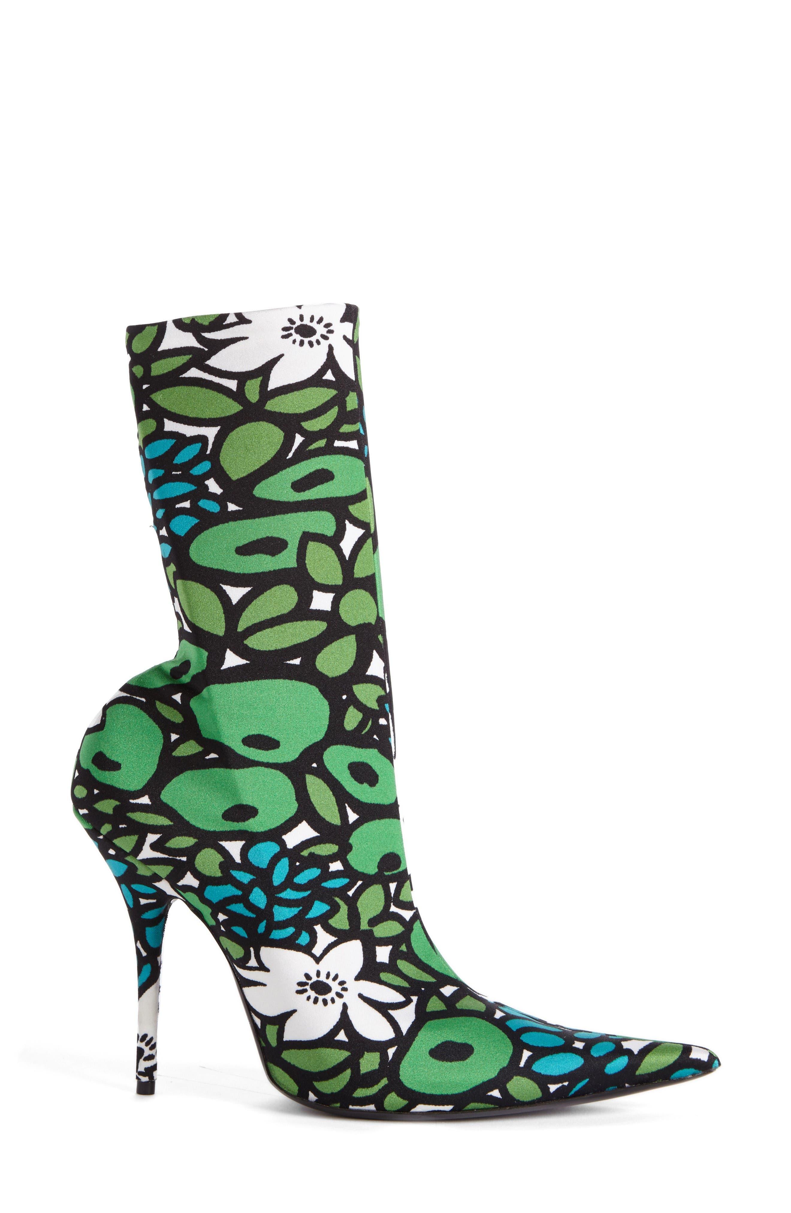 Alternate Image 4  - Balenciaga Pointy Toe Mid Boot (Women)