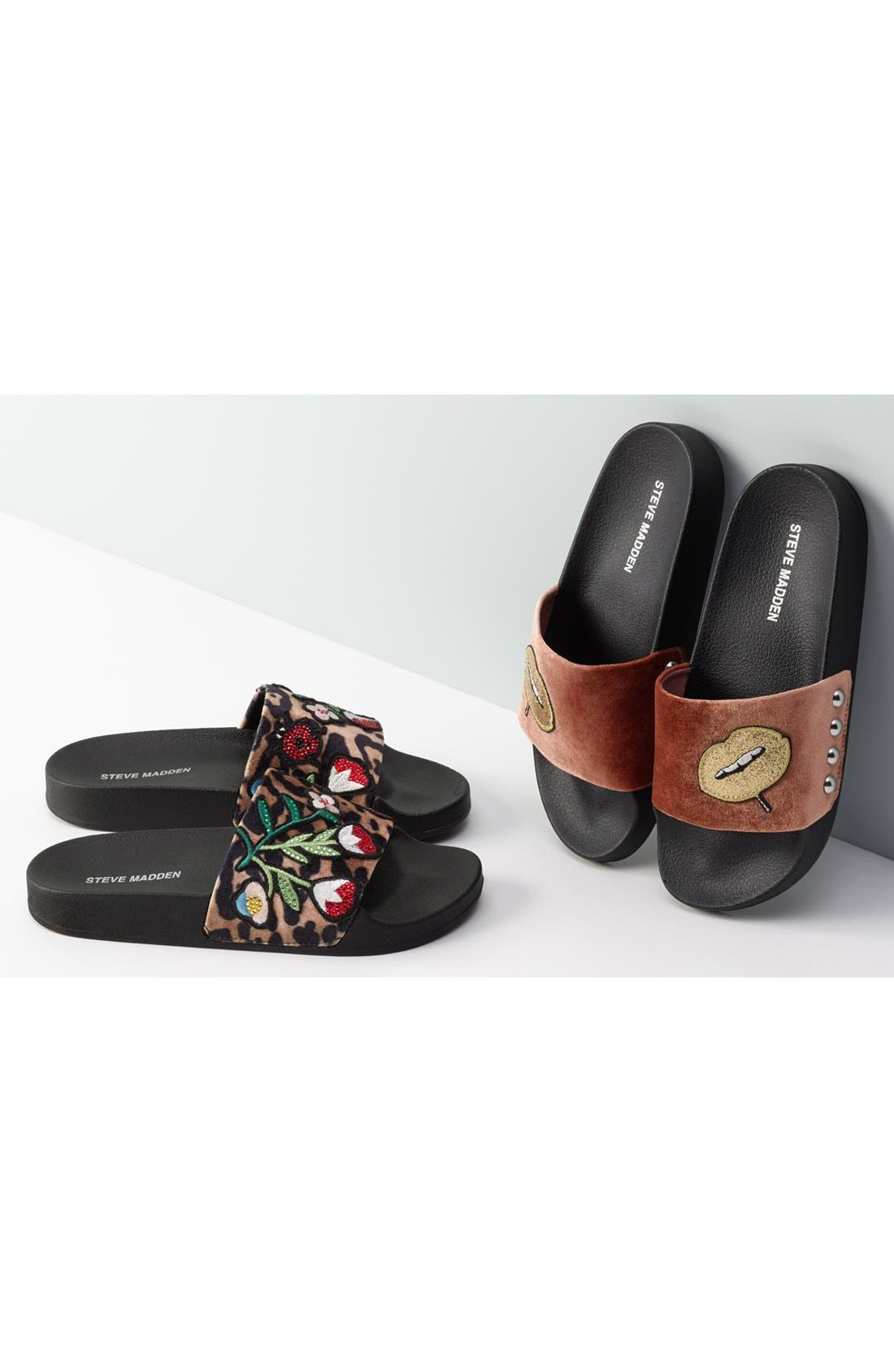 Alternate Image 7  - Steve Madden Patches Slide Sandal (Women)