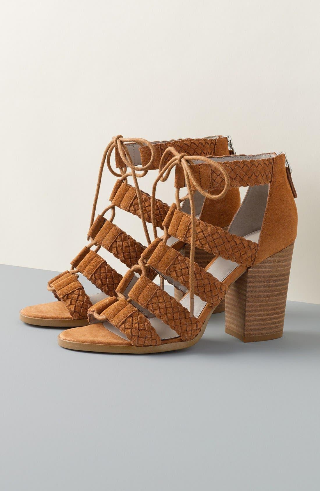 Alternate Image 5  - Hinge Desi Block Heel Sandal (Women)