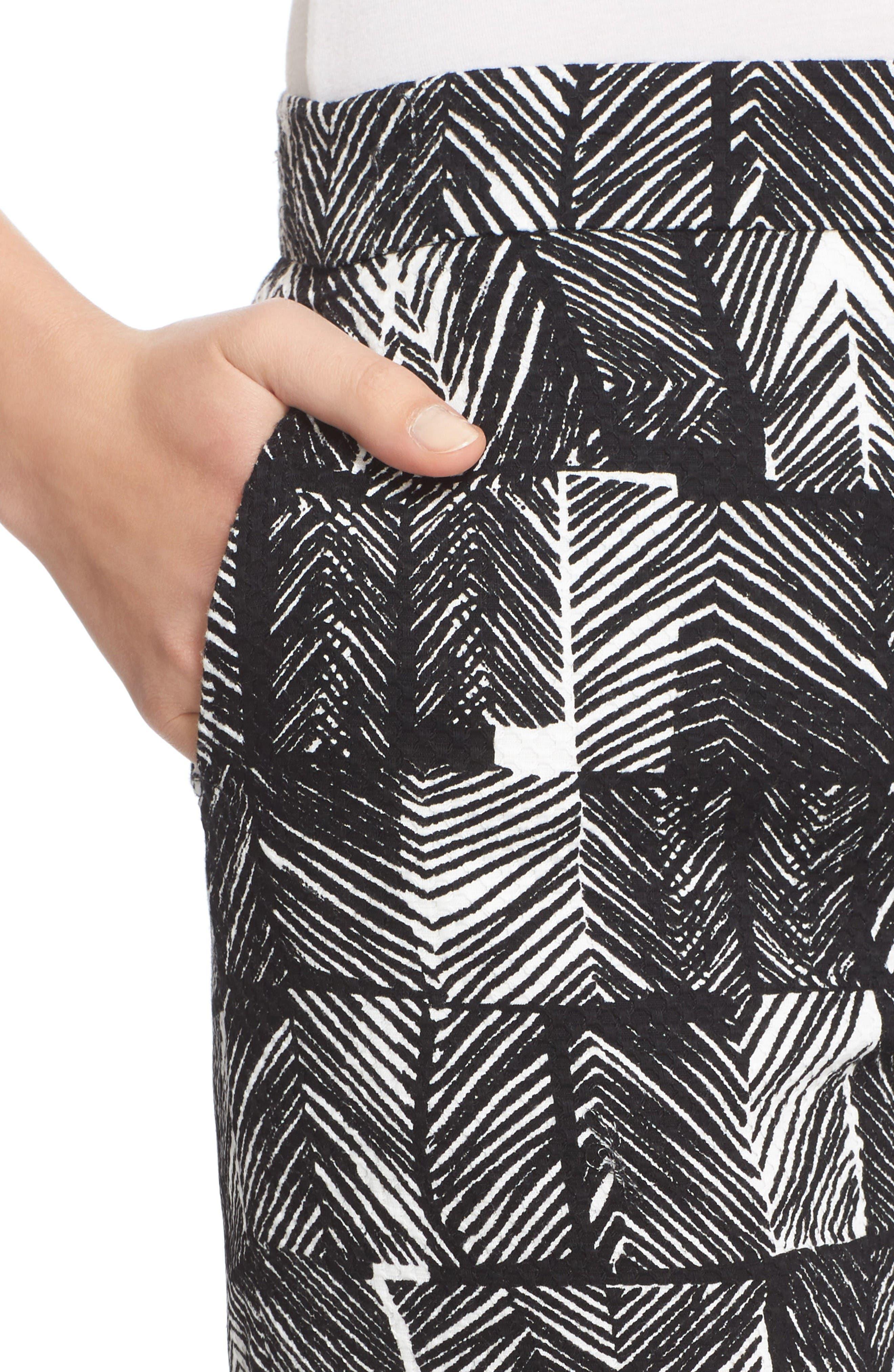 Alternate Image 6  - Max Mara Paggio Graphic Print Crop Pants