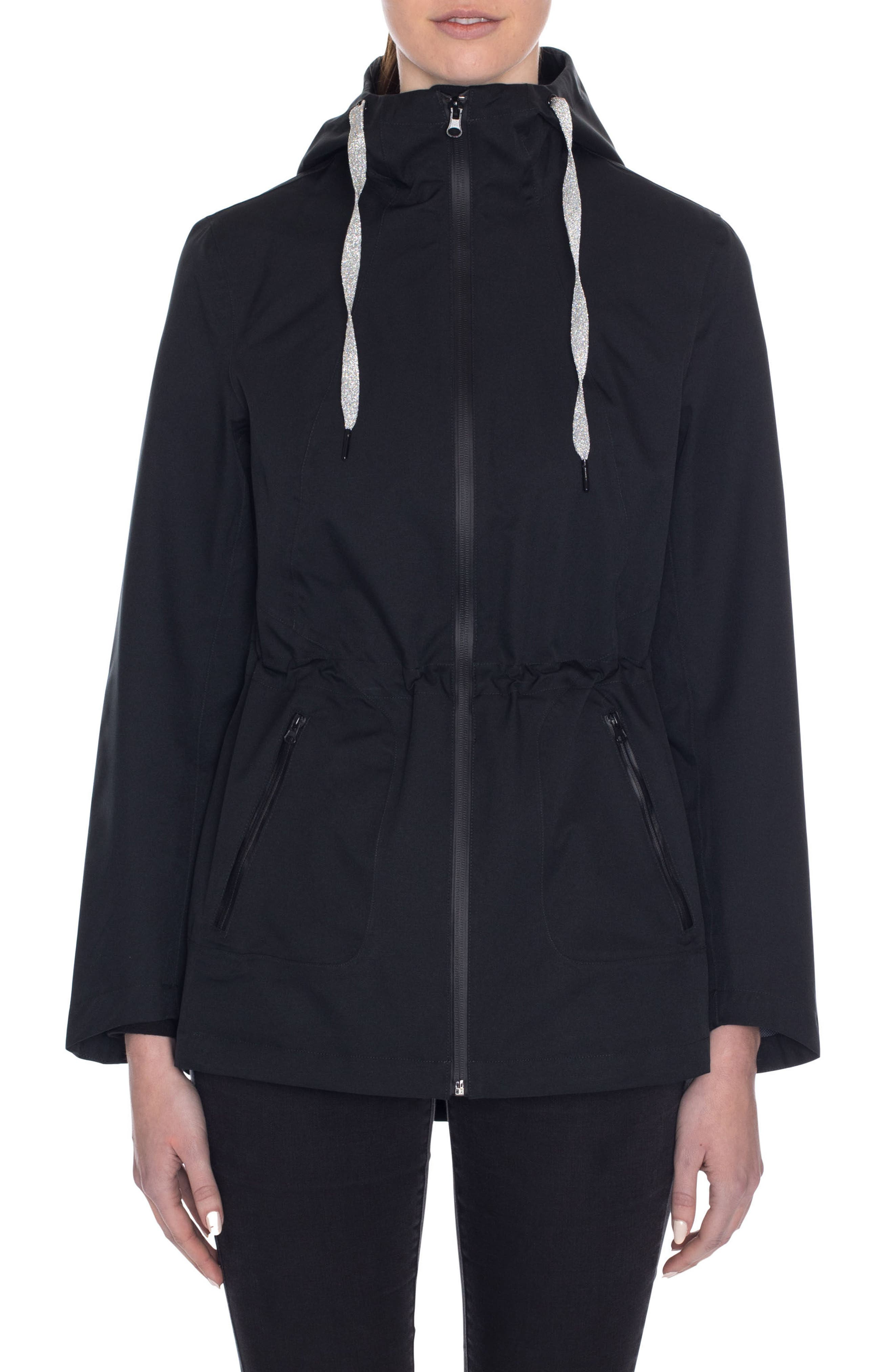 Laundry by Shelli Segal Hooded Active Jacket