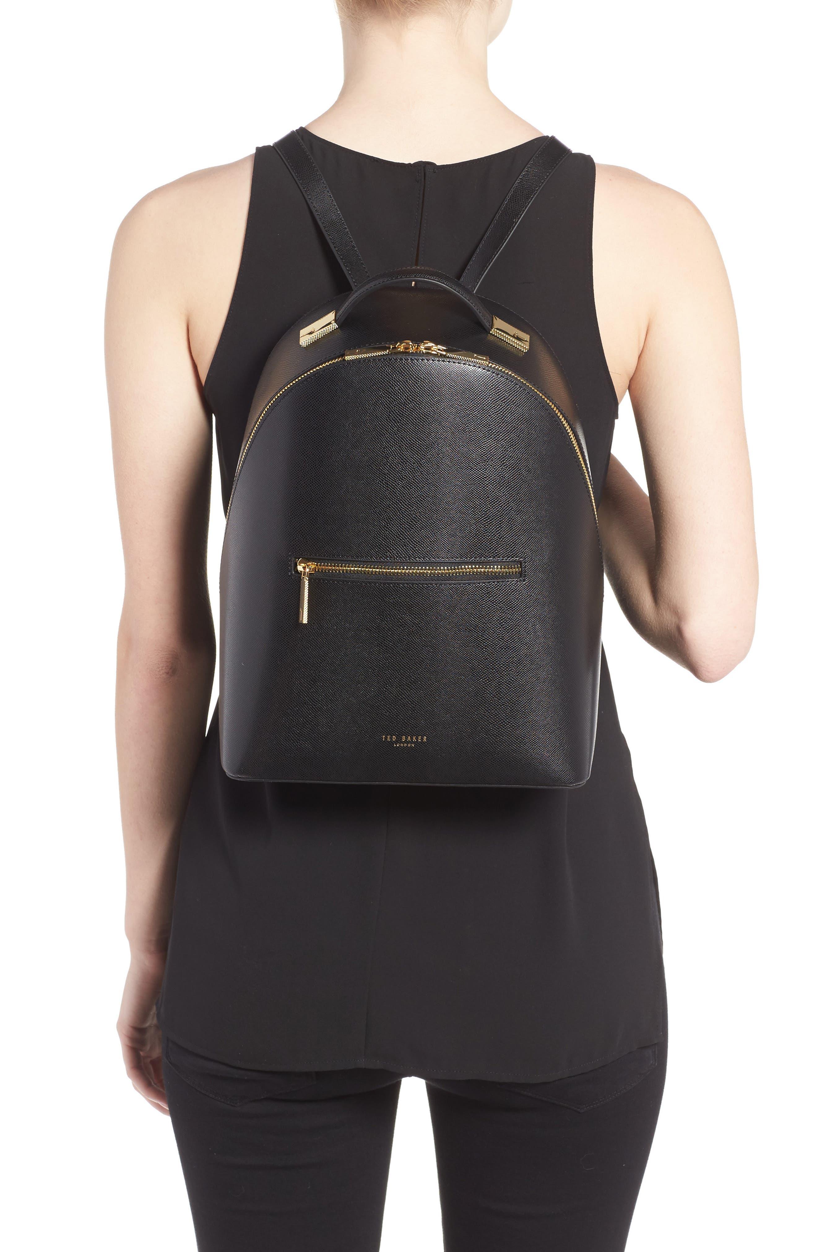 Alternate Image 2  - Ted Baker London Mini Jarvis Leather Backpack