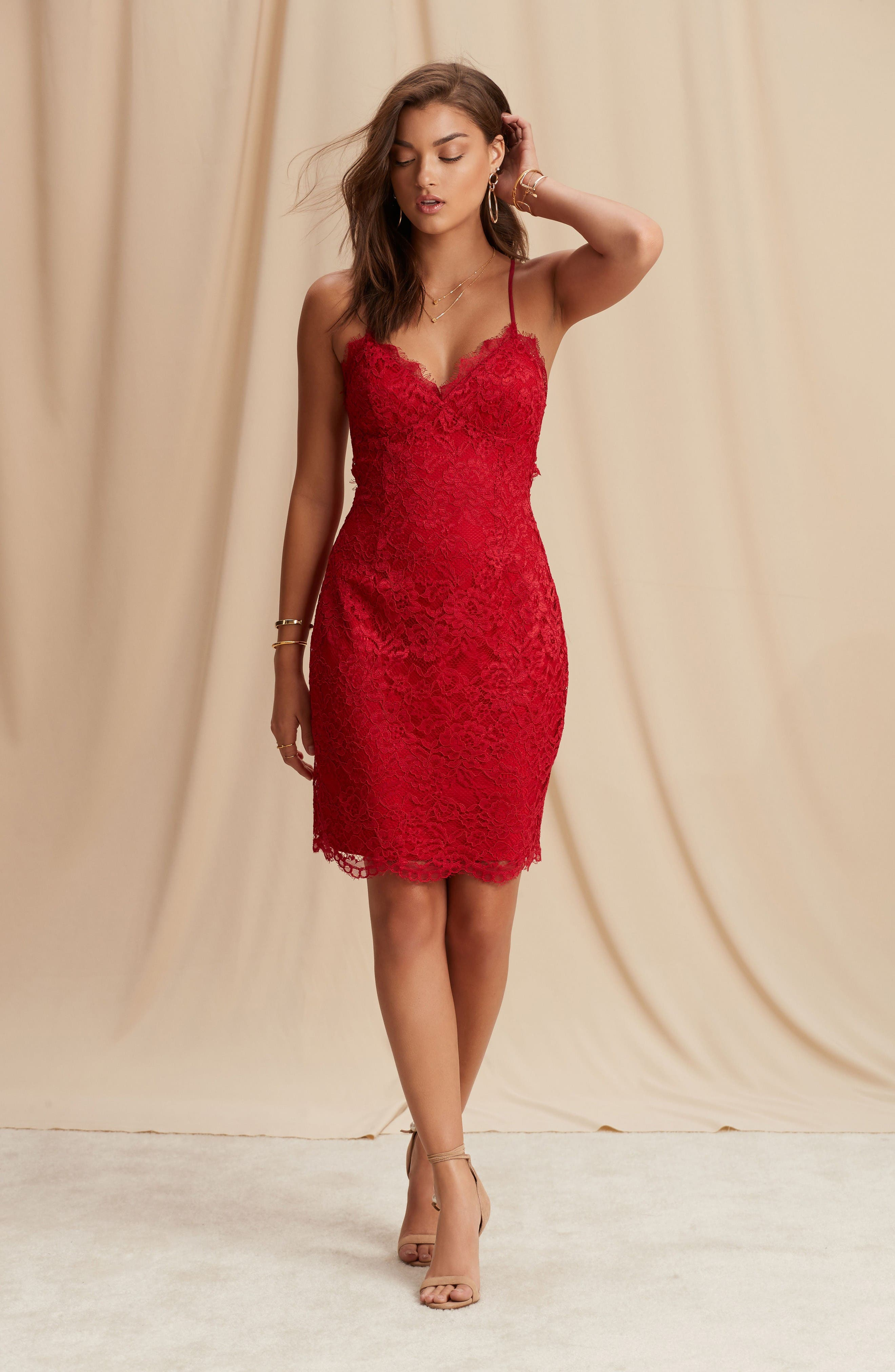 Alternate Image 2  - NBD All Me Lace Body-Con Dress