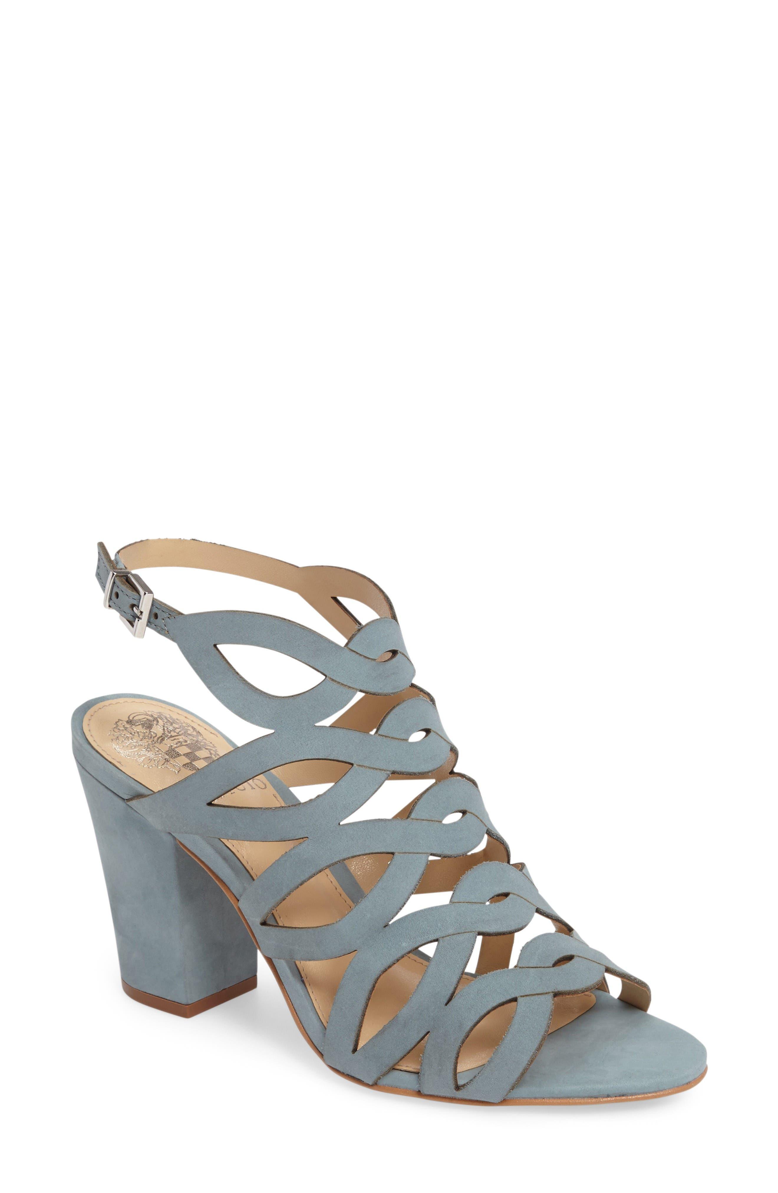 Alternate Image 1 Selected - Vince Camuto Norla Block Heel Sandal (Women)