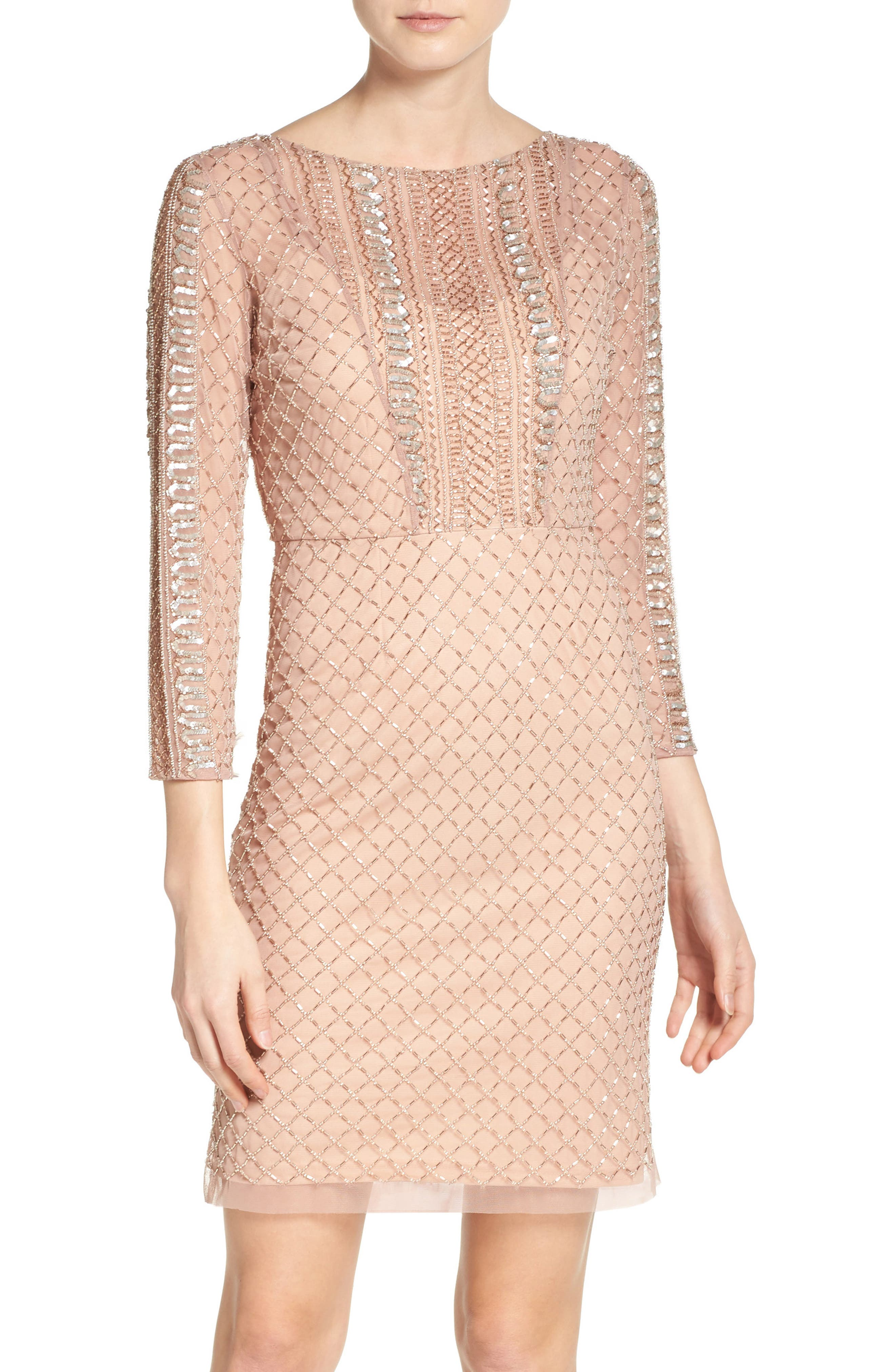 Alternate Image 1 Selected - Adrianna Papell Sheath Dress