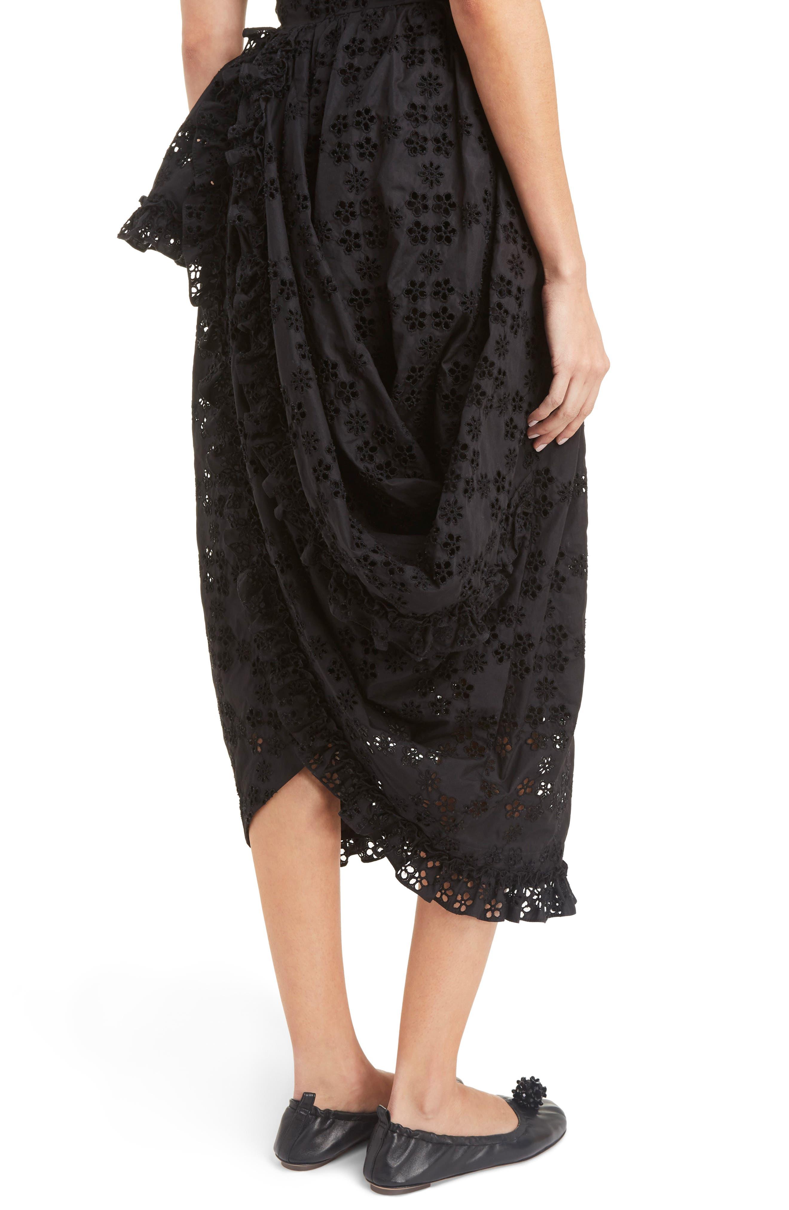 Alternate Image 6  - Simone Rocha Eyelet Frill Dress