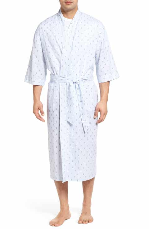Majestic International Anchor Print Robe