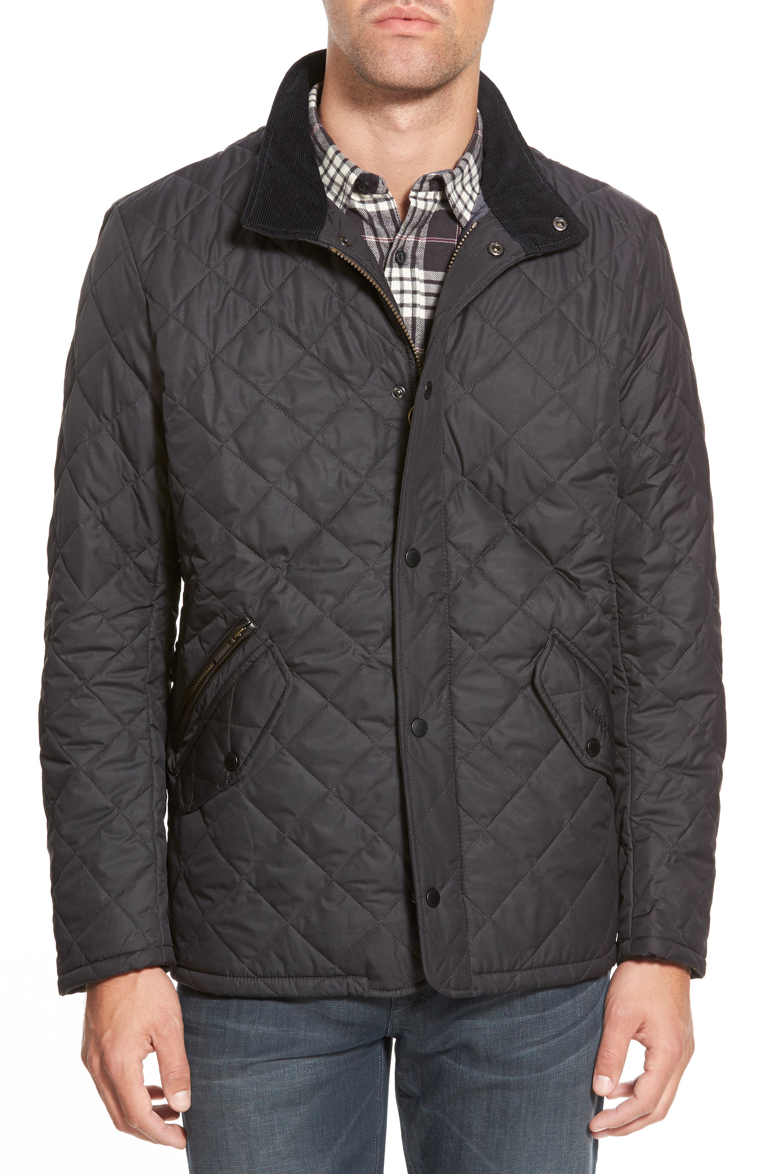 Alternate Image 1 Selected - Barbour 'Chelsea' Regular Fit Quilted Jacket