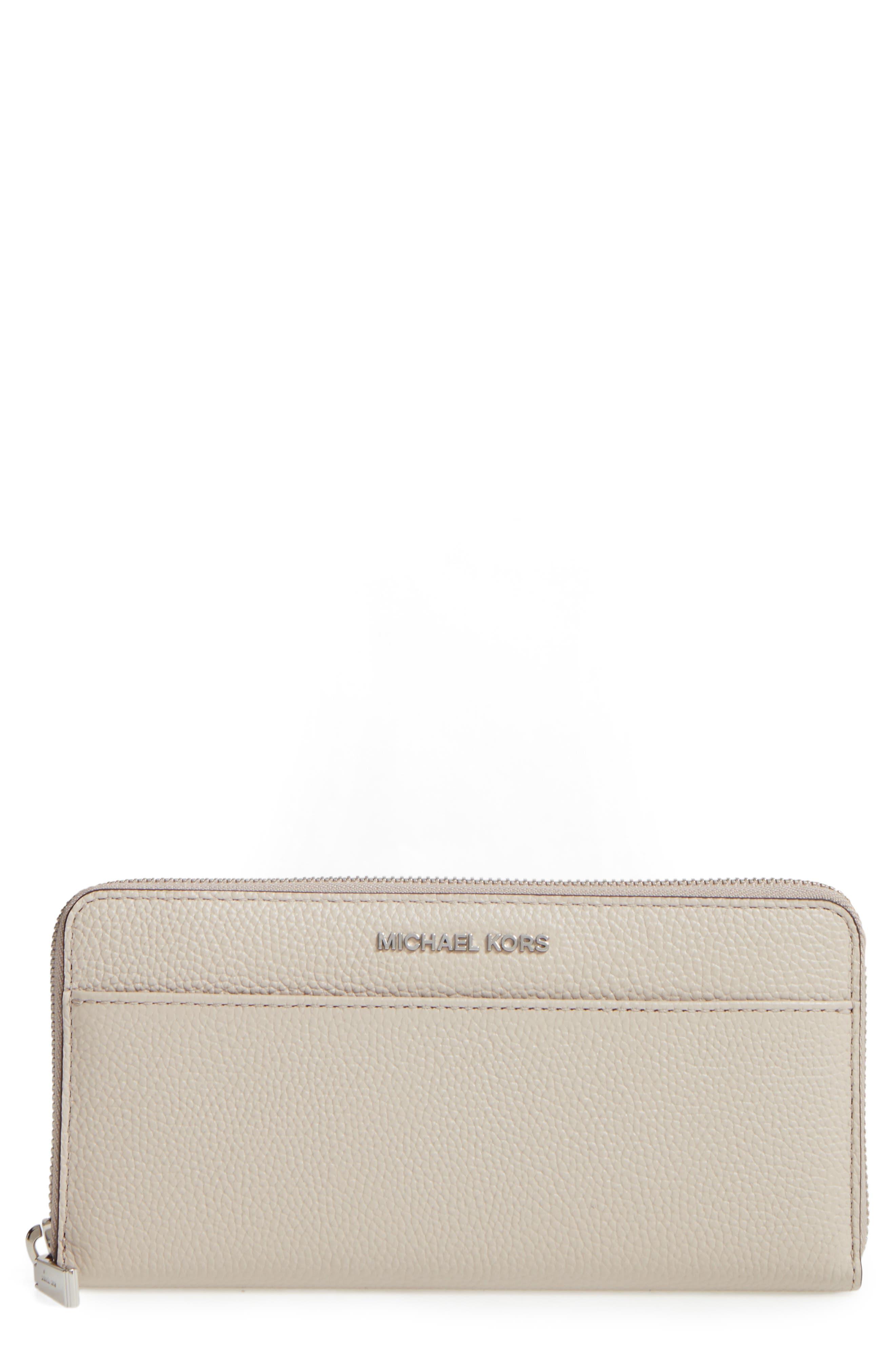 MICHAEL Michael Kors Mercer Leather Continental Wallet