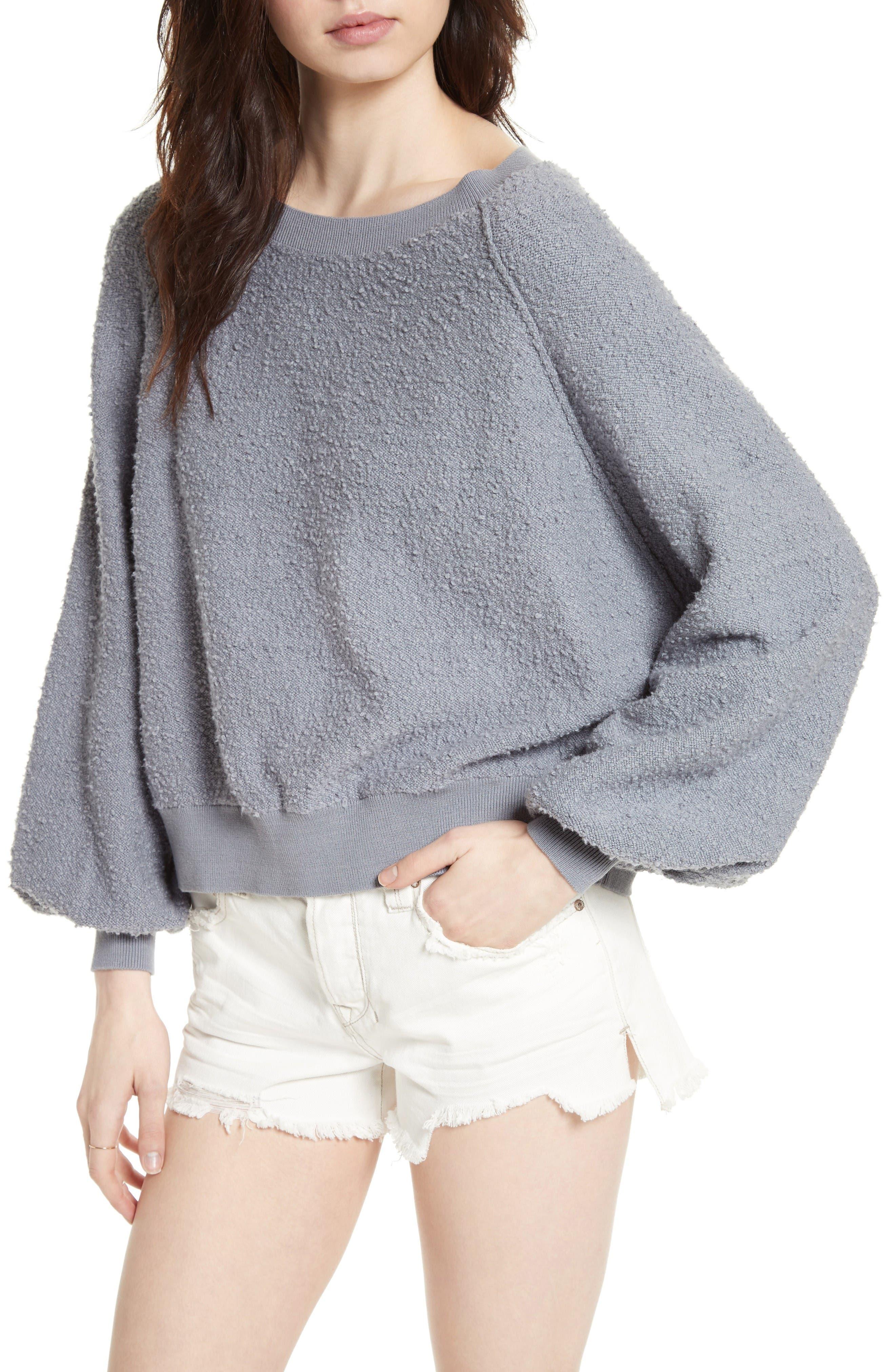 Alternate Image 4  - Free People Found My Friend Sweatshirt