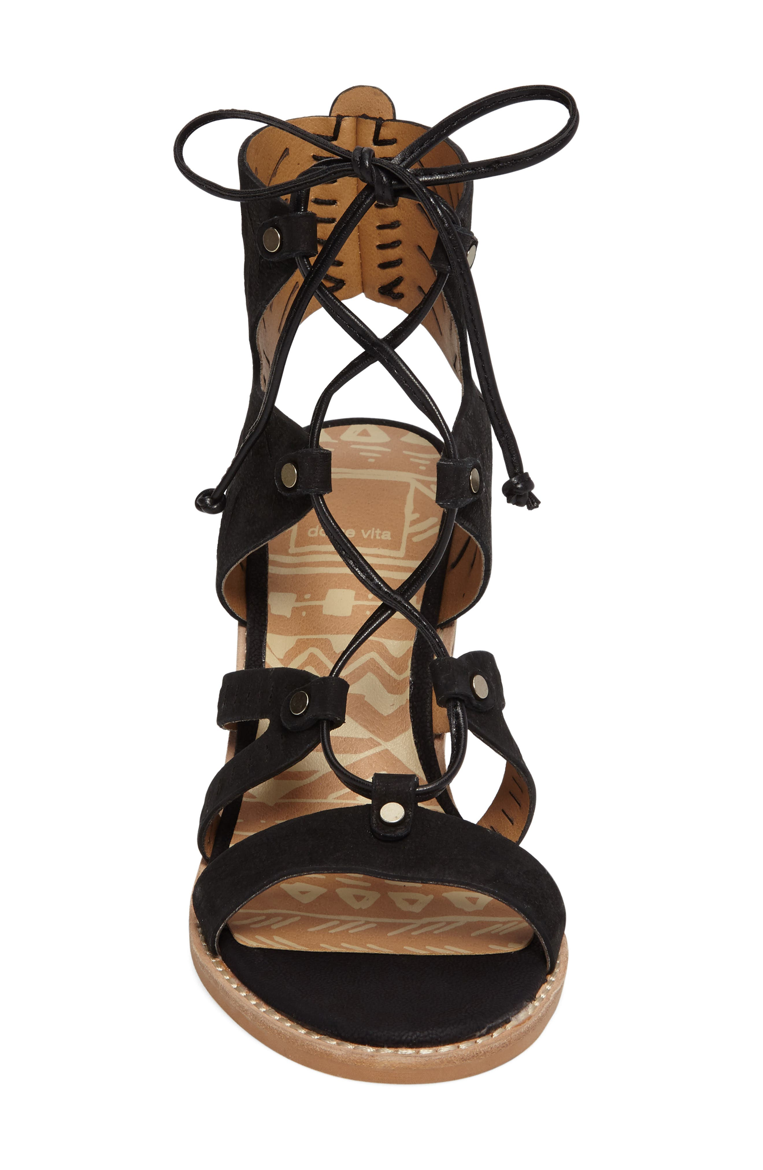 Alternate Image 3  - Dolce Vita Luci Ghillie Lace Sandal (Women)