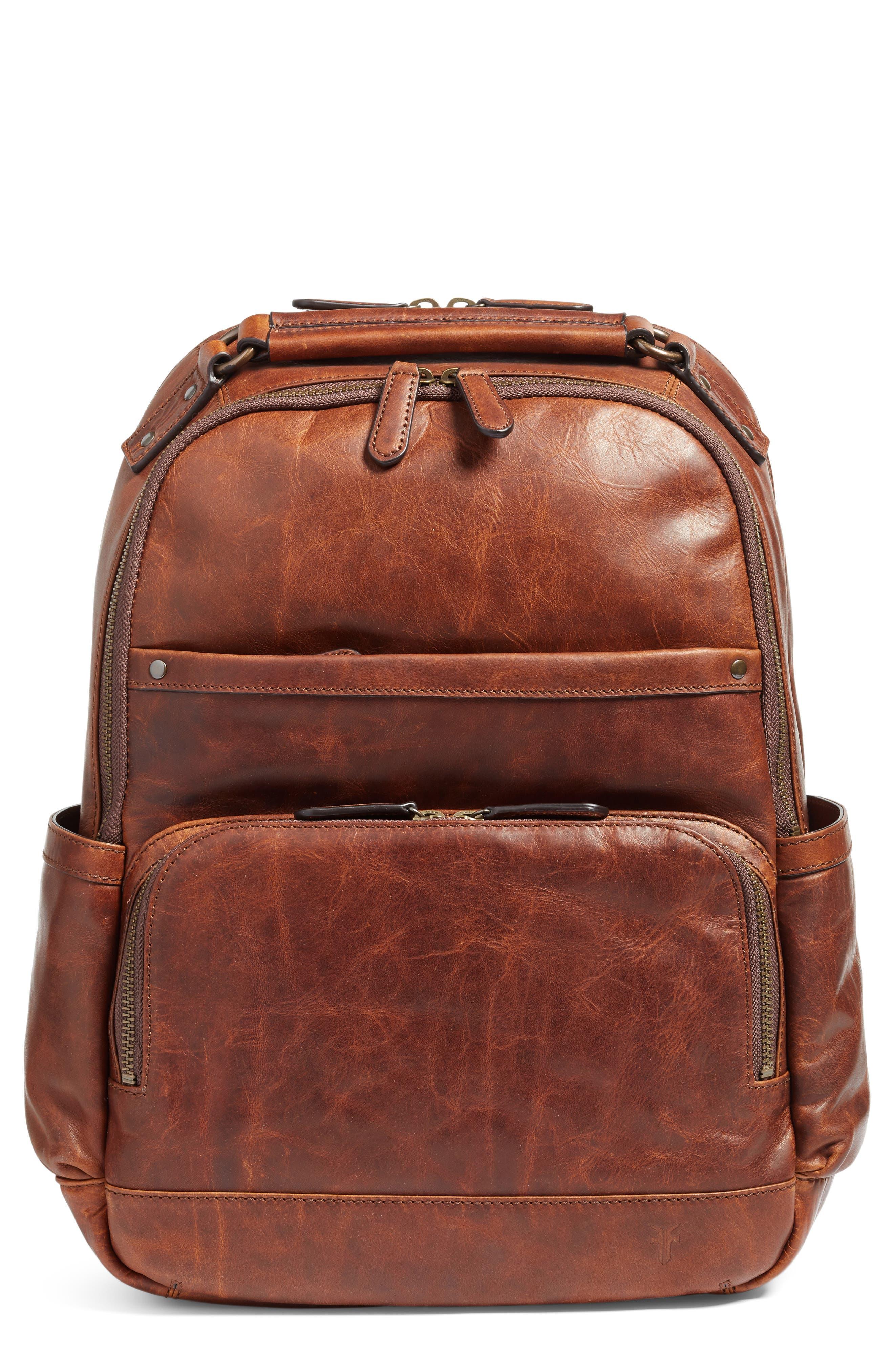 Alternate Image 1 Selected - Frye 'Logan' Leather Backpack