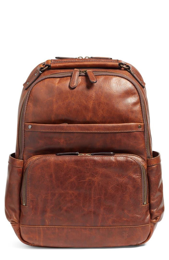 Frye Logan Leather Backpack Nordstrom