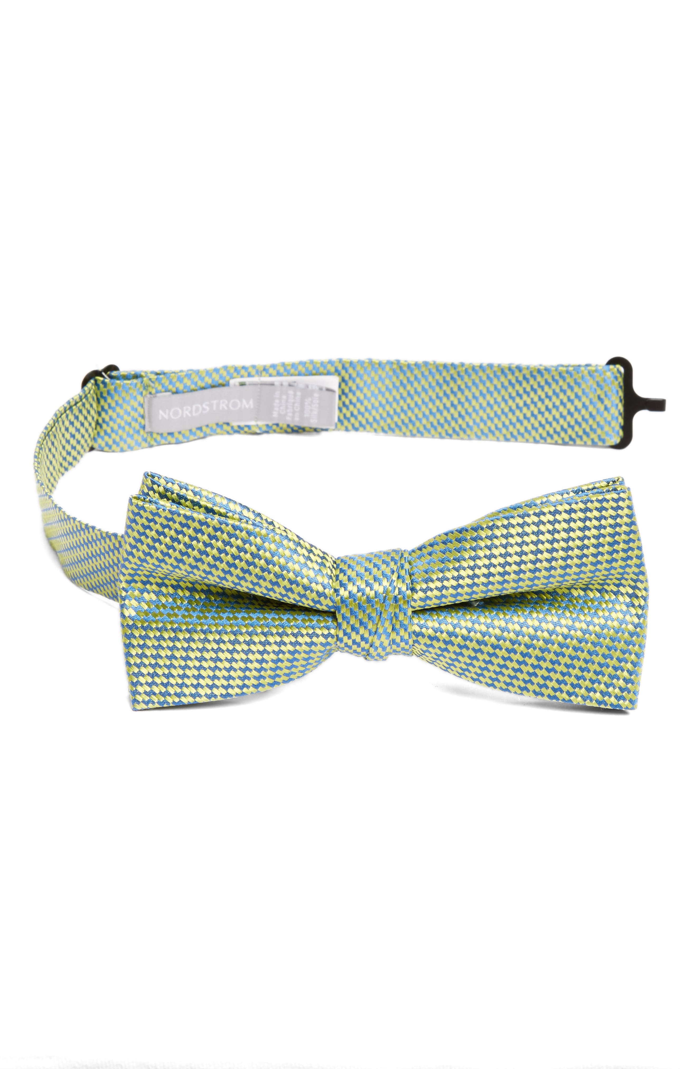 Nordstrom Neat Silk Bow Tie (Big Boys)