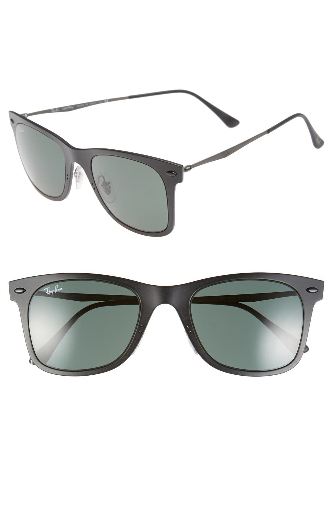 Alternate Image 1 Selected - Ray-Ban 'TECH Light-Ray' 50mm Wayfarer Sunglasses