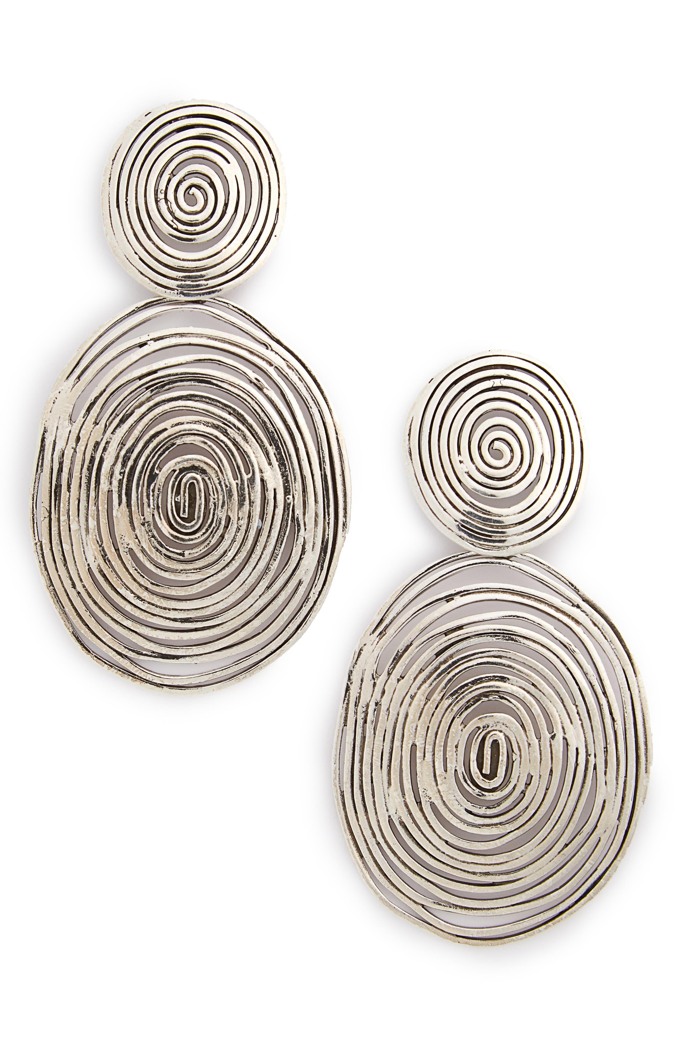 Alternate Image 1 Selected - Gas Bijoux 'Wave' Double Drop Earrings