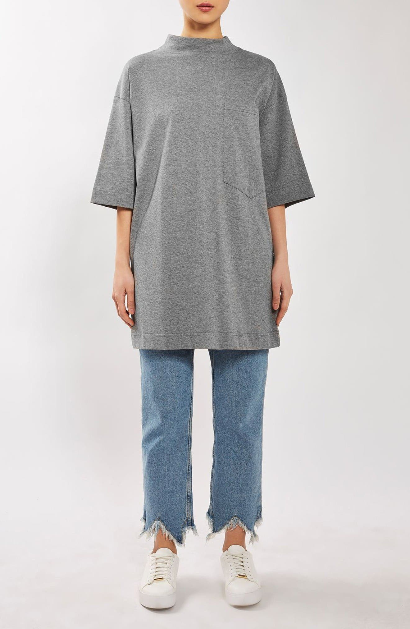 Alternate Image 2  - Topshop Boutique Sloppy Boy Tee