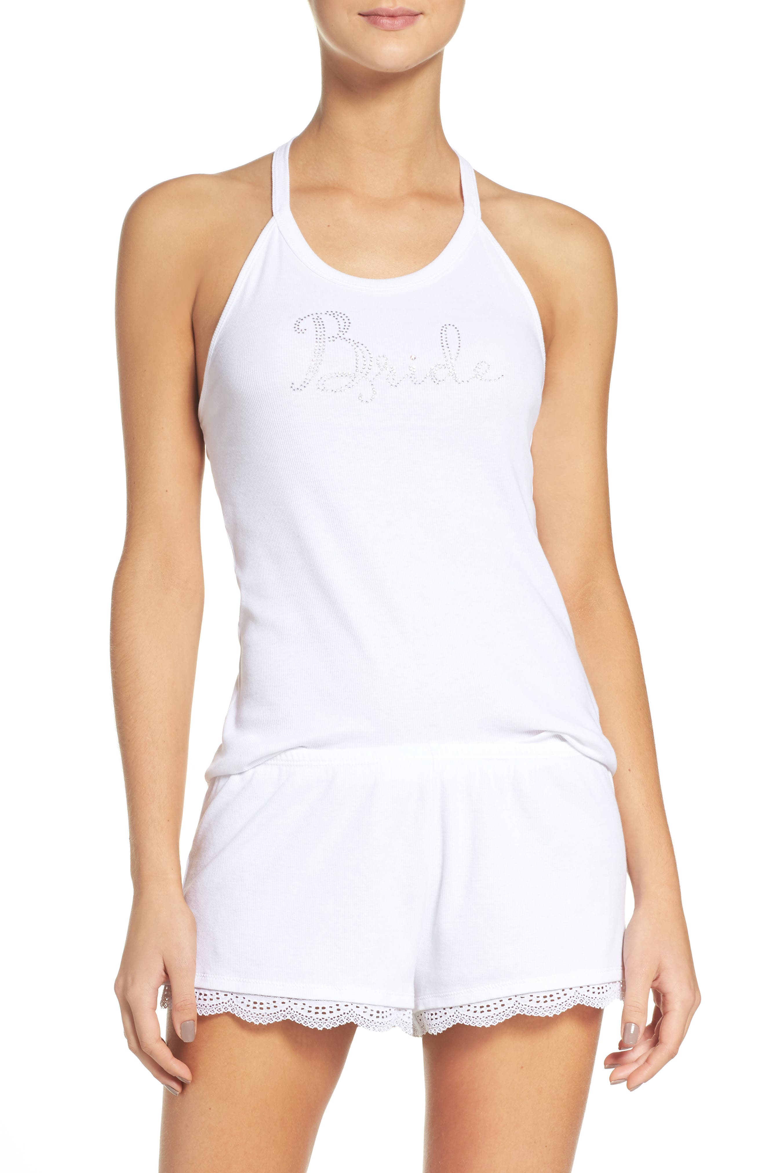 Betsey Johnson Bride Short Pajamas