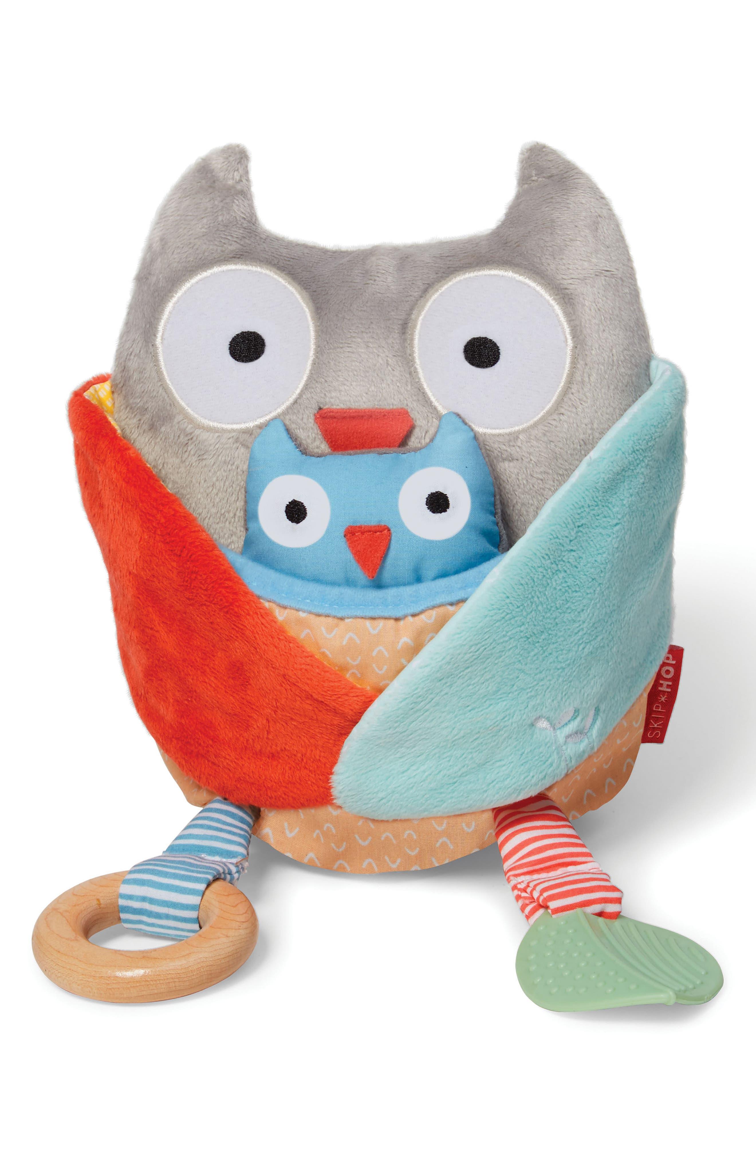 Skip Hop Treetop Friends Hug & Hide Activity Owl