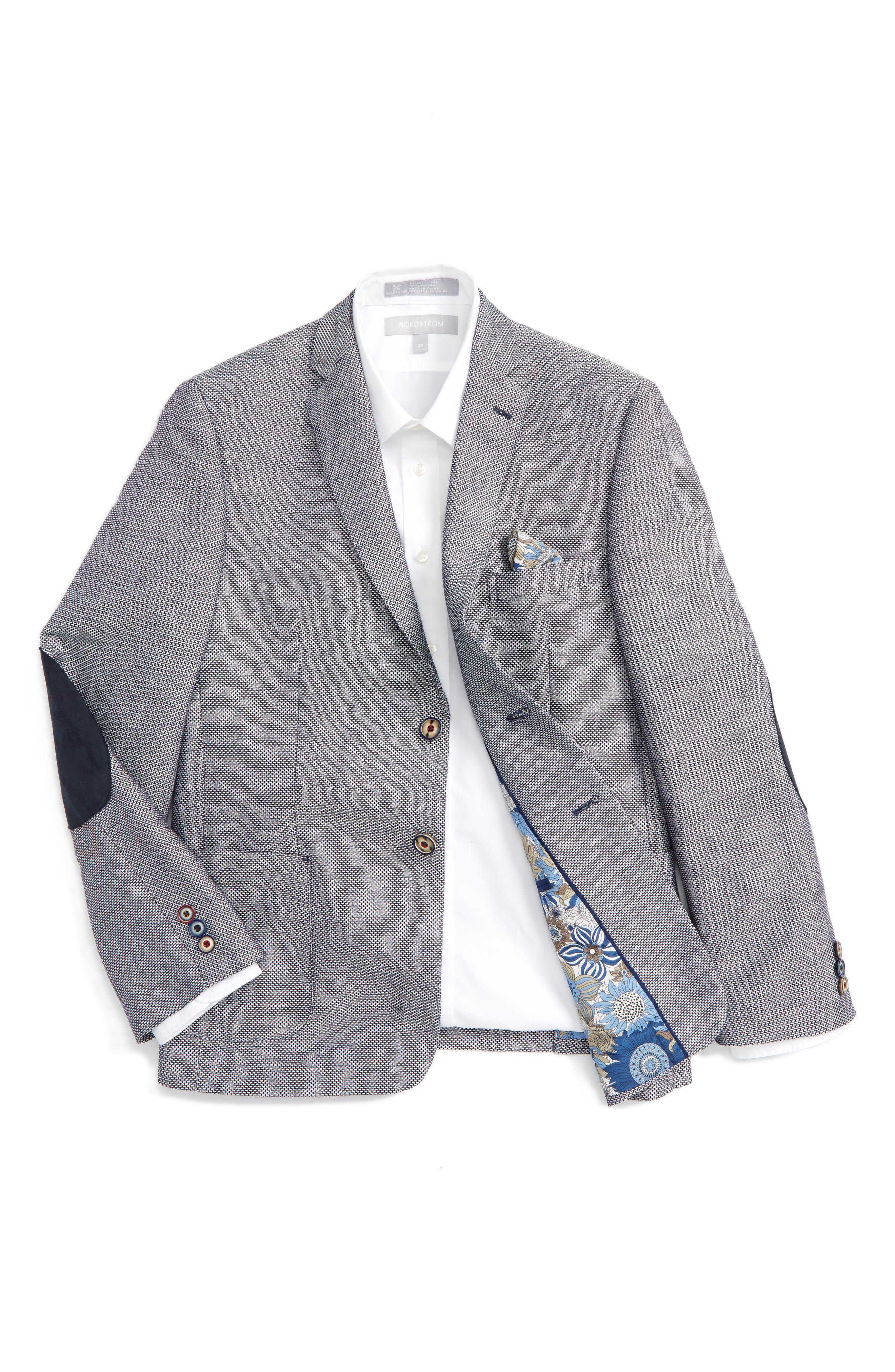 TALLIA Neat Linen & Cotton Blazer