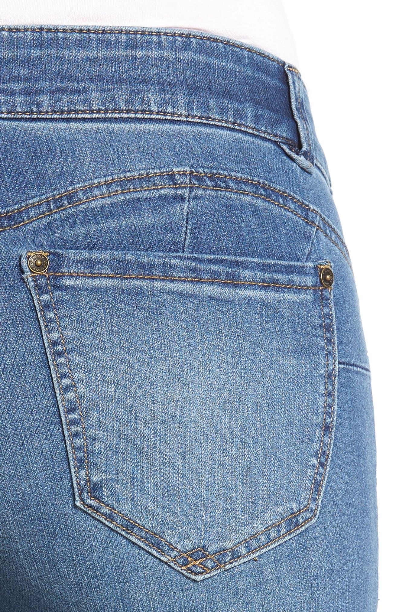 Alternate Image 5  - Wit & Wisdom Ab Solution Denim Bermuda Shorts (Nordstrom Exclusive)